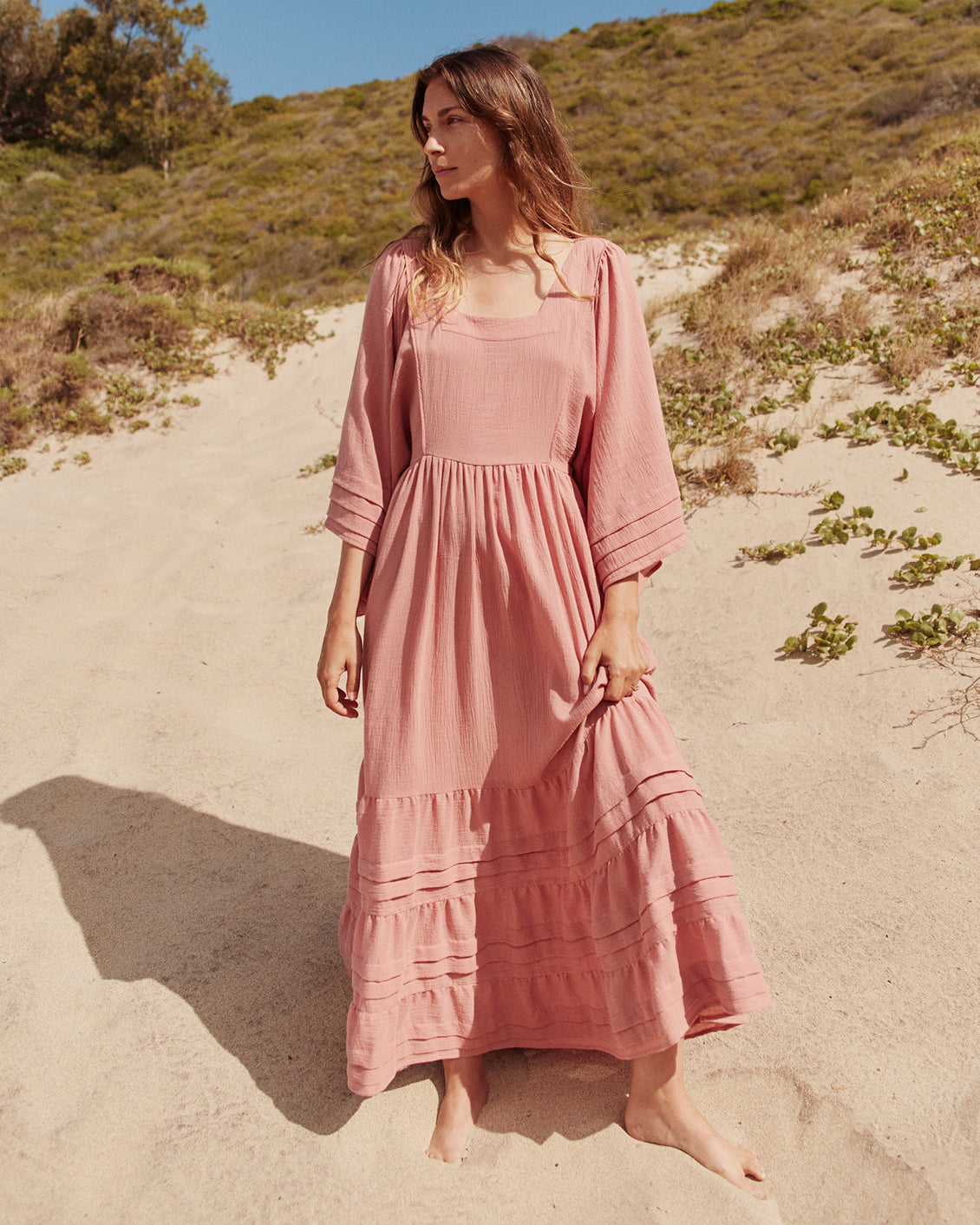 The Ria Dress | Washed Rose
