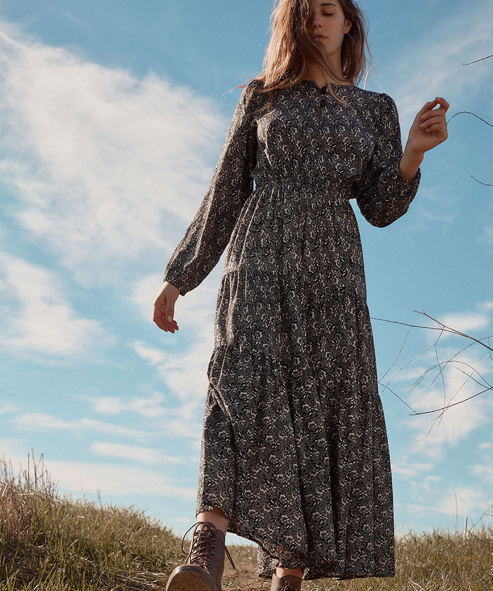 The River Dress | Raven Floral
