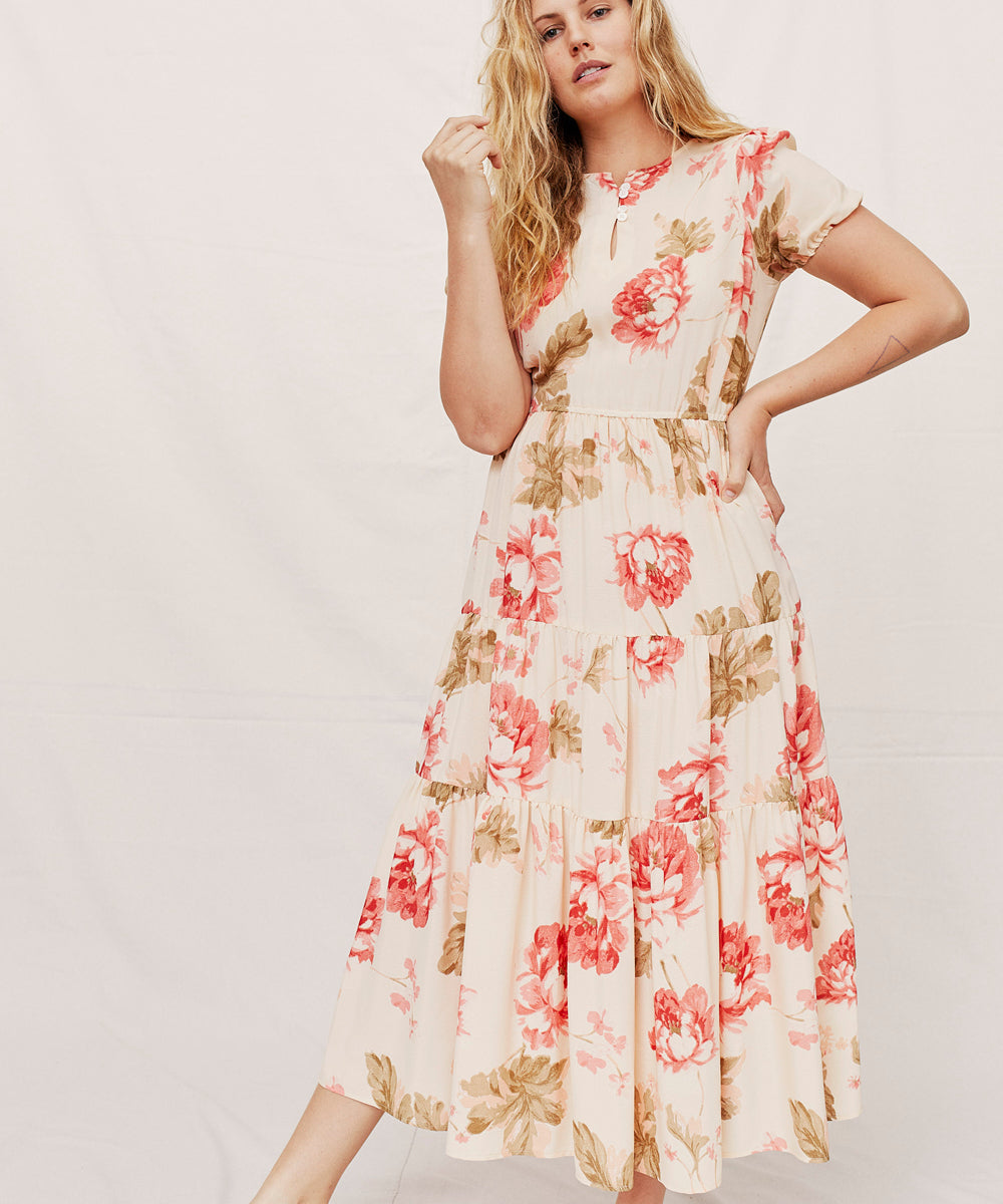 The Robin Dress | Rose Floral