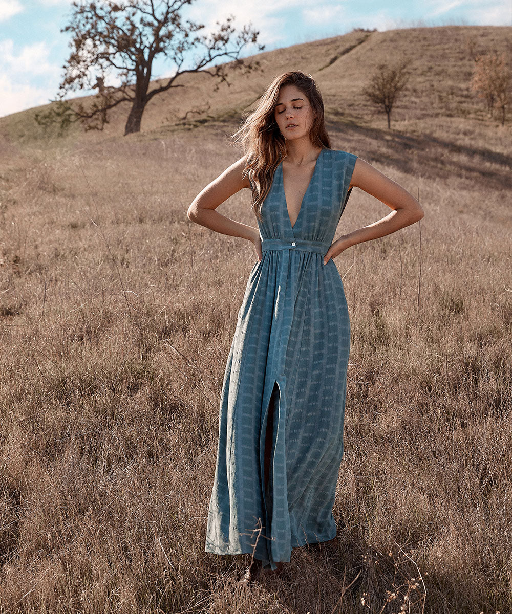 The Rosemary Dress | Sea Mist