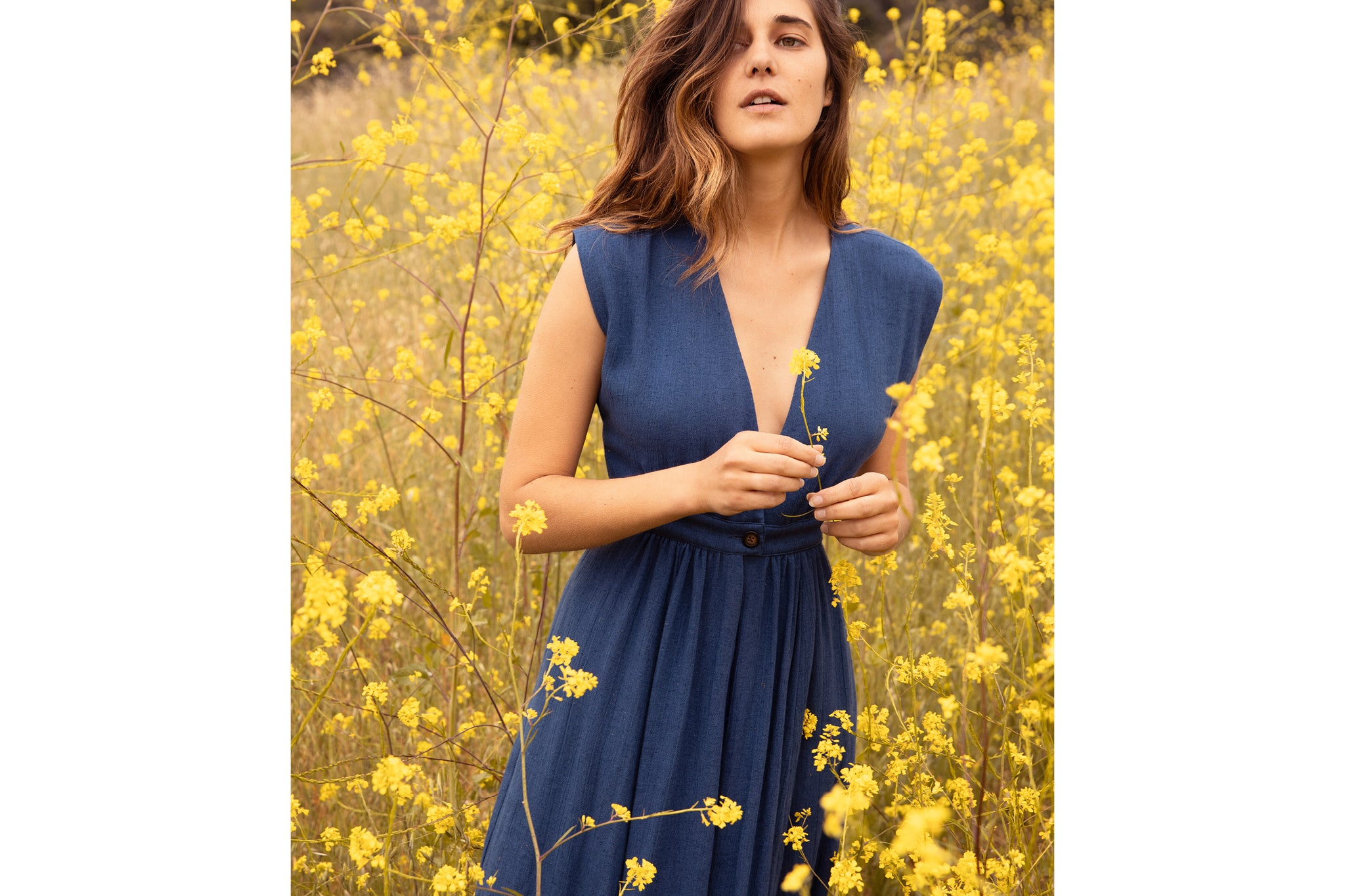 The Rosemary Dress | Winter Blue