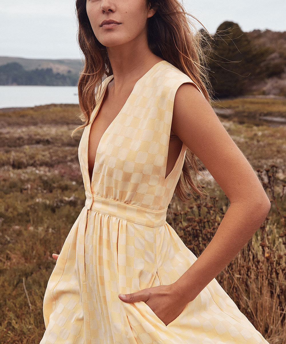 The Rosemary Dress | Maize