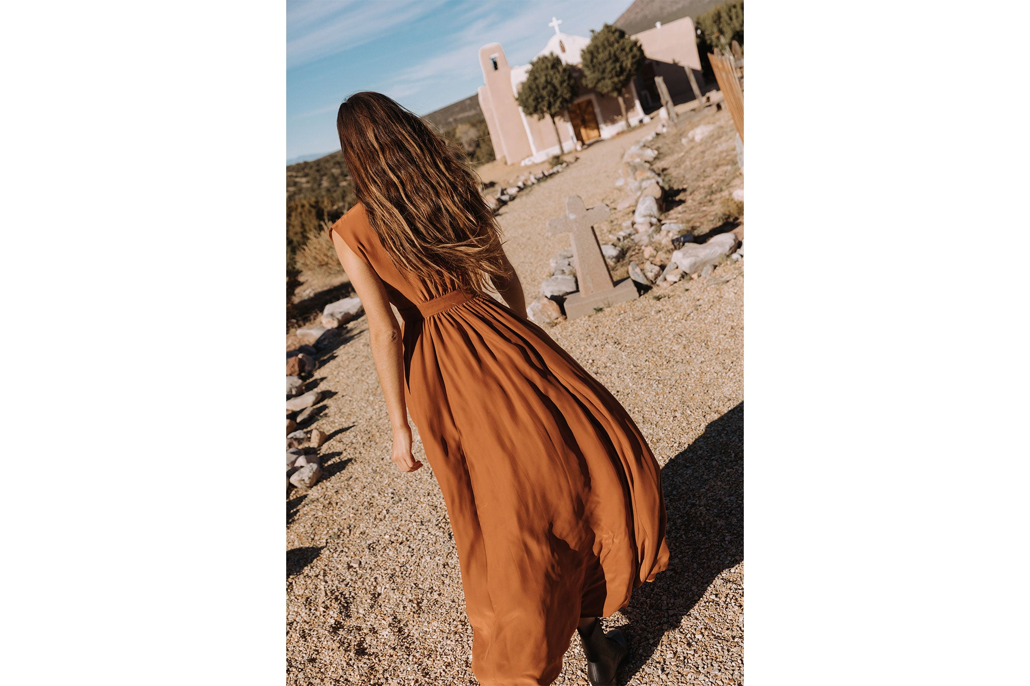 The Rosemary Dress | Rust