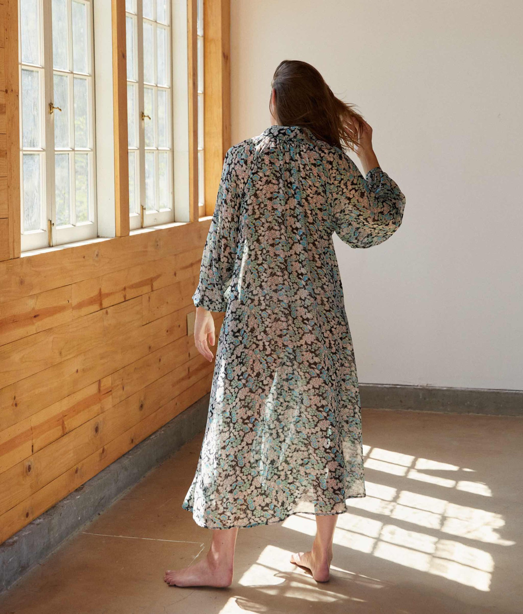 The Rumi Dress | Turquoise Meadow