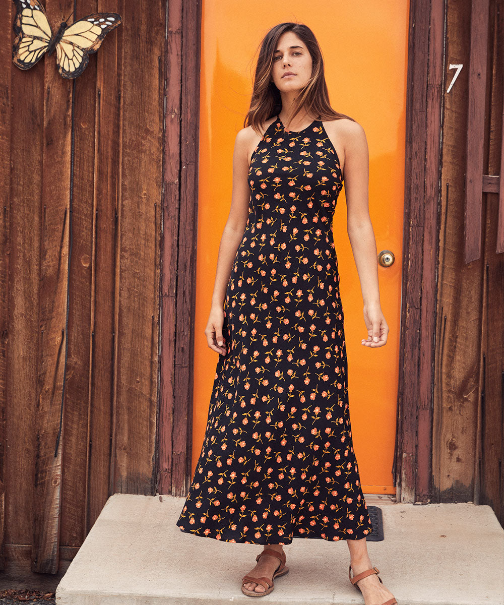 The Sage Dress | Persimmon Rose