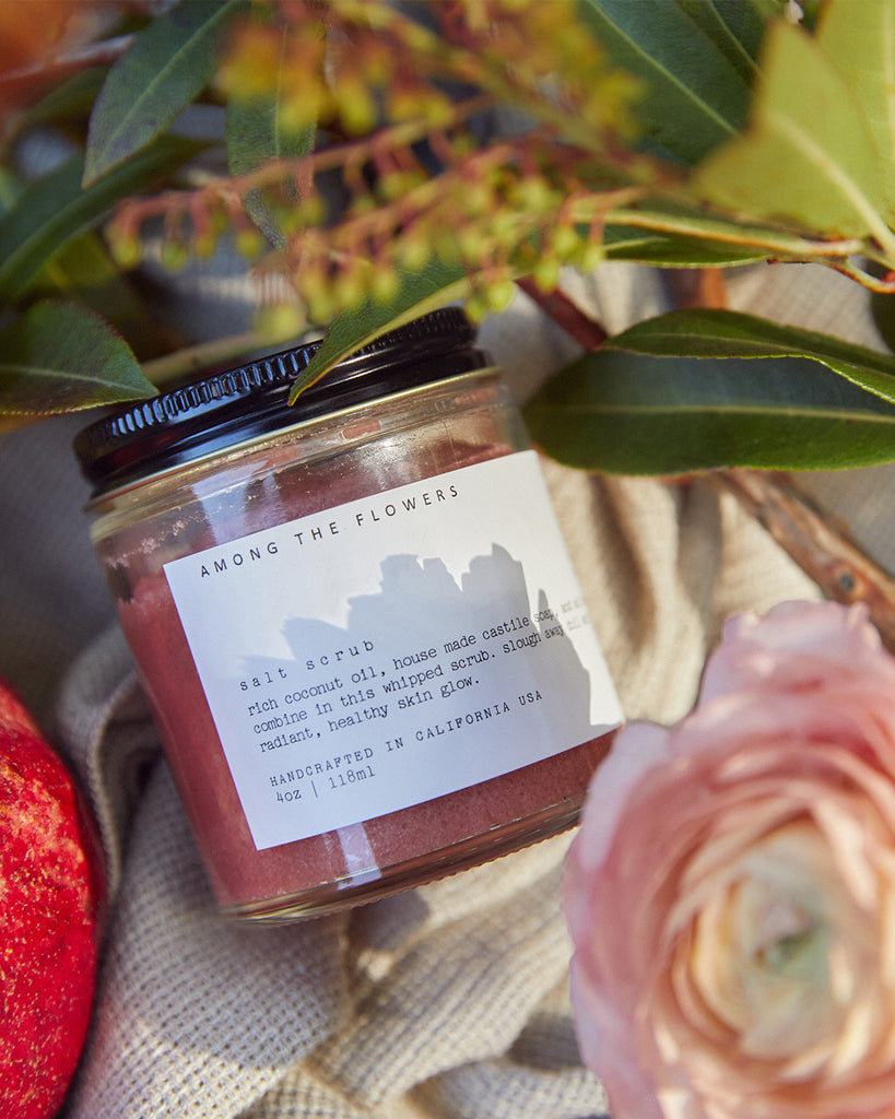 Among the Flowers Salt Scrub (Individual Assorted Scents)
