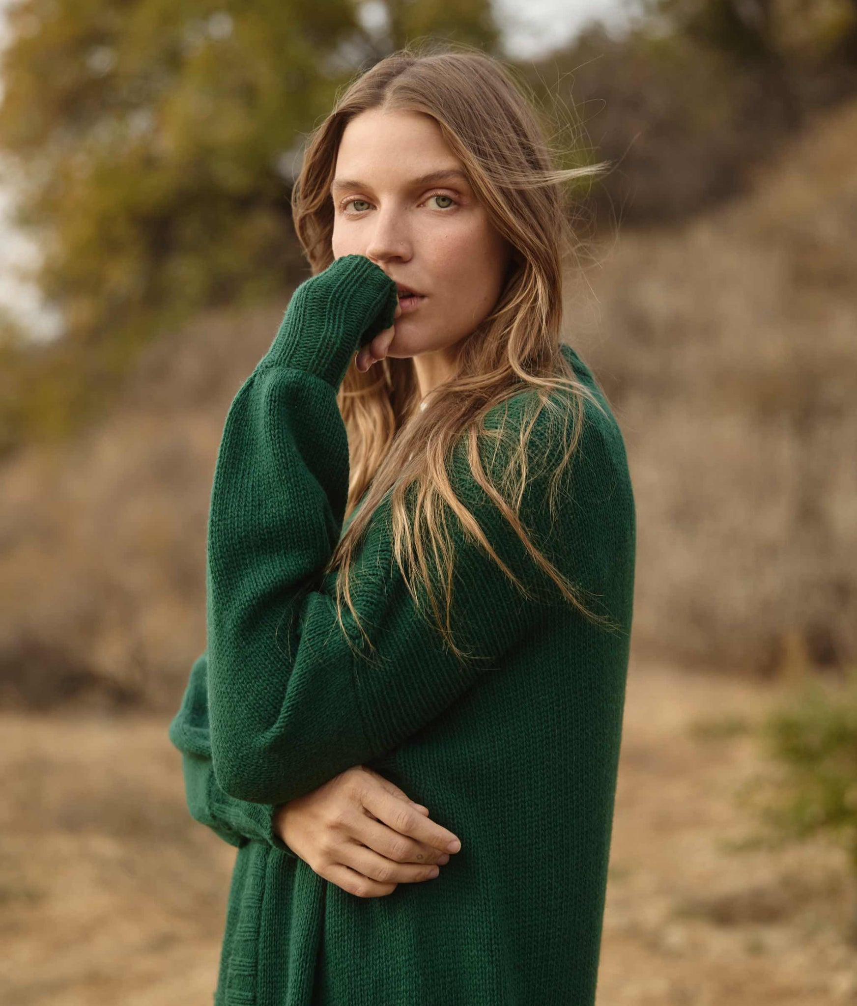 The Sasha Sweater | Forest Knit