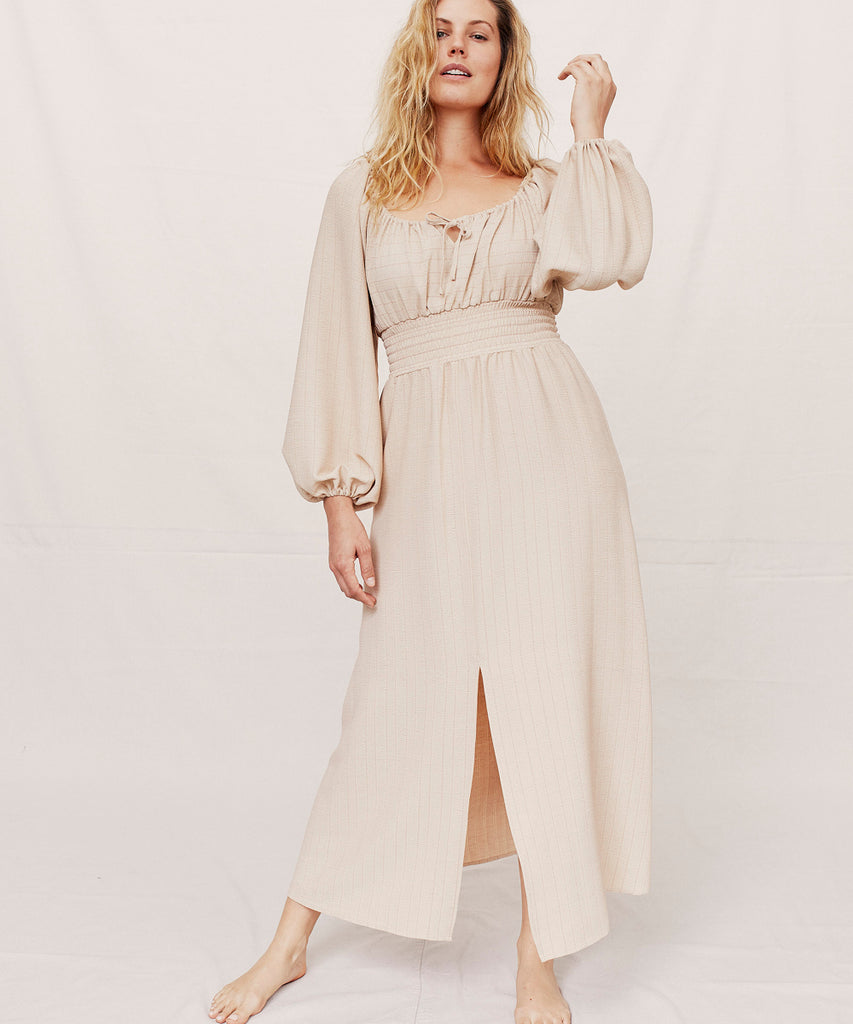 The Savannah Dress | Creme image 3