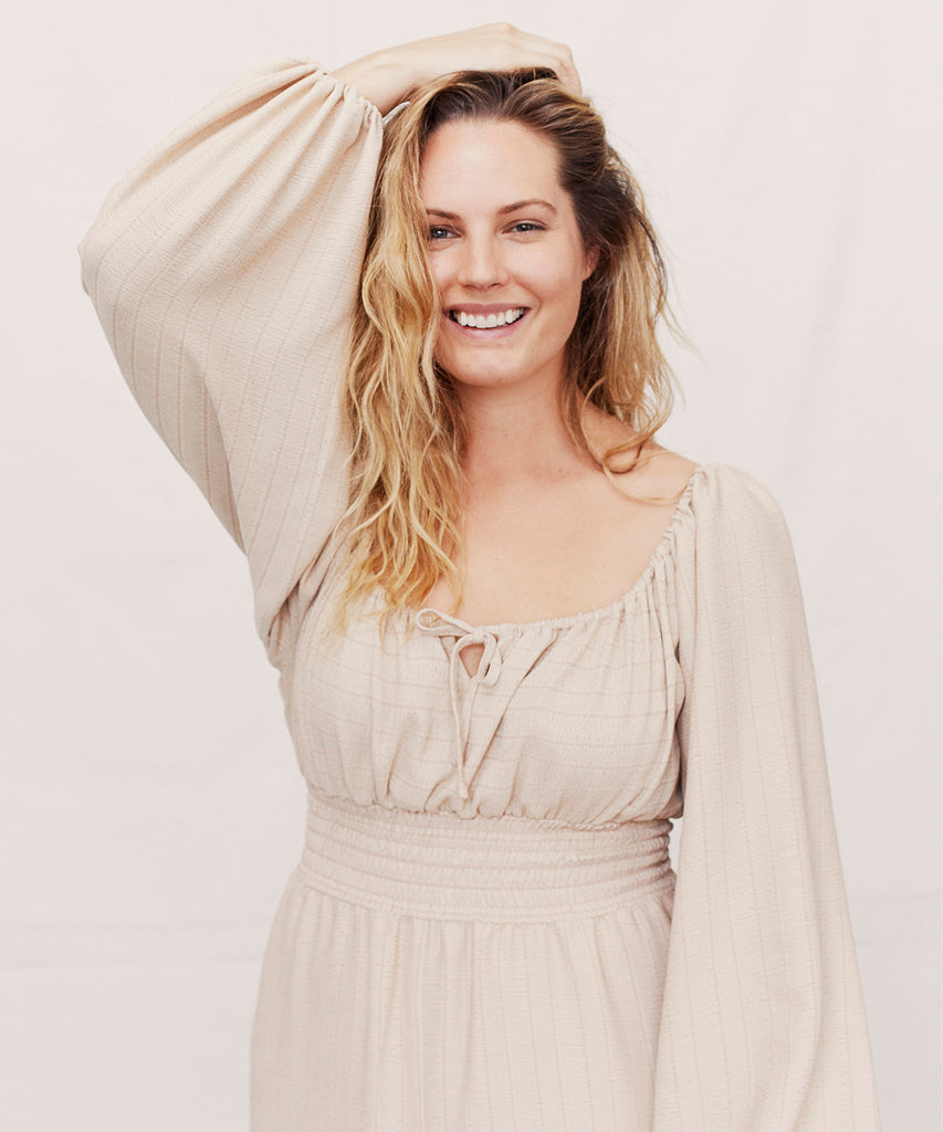 The Savannah Dress | Creme image 4