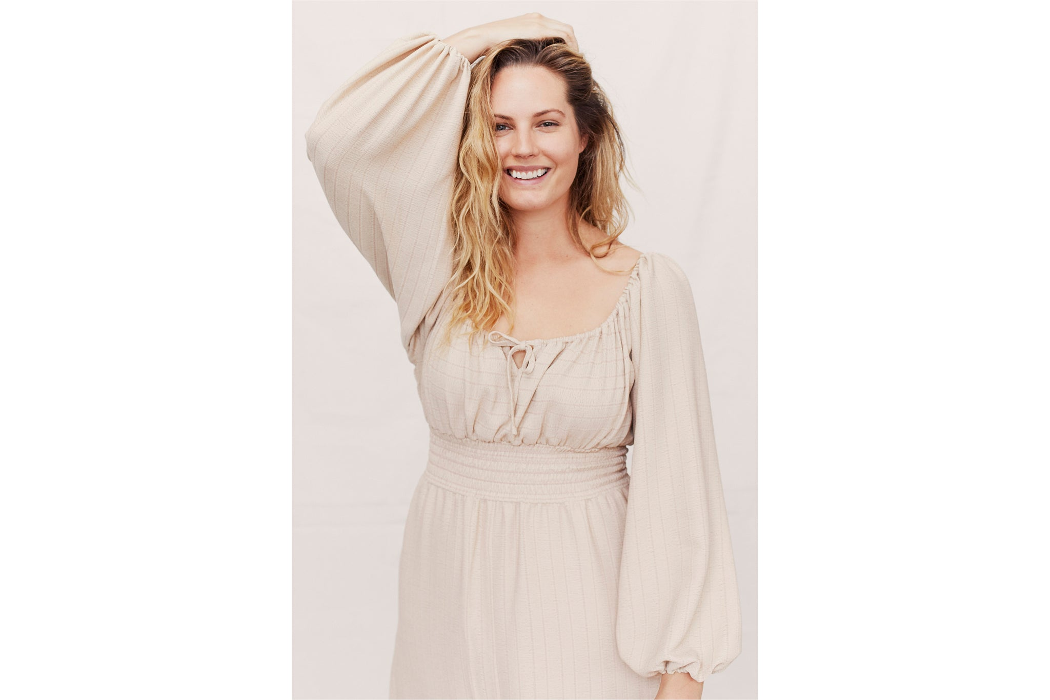The Savannah Dress | Creme