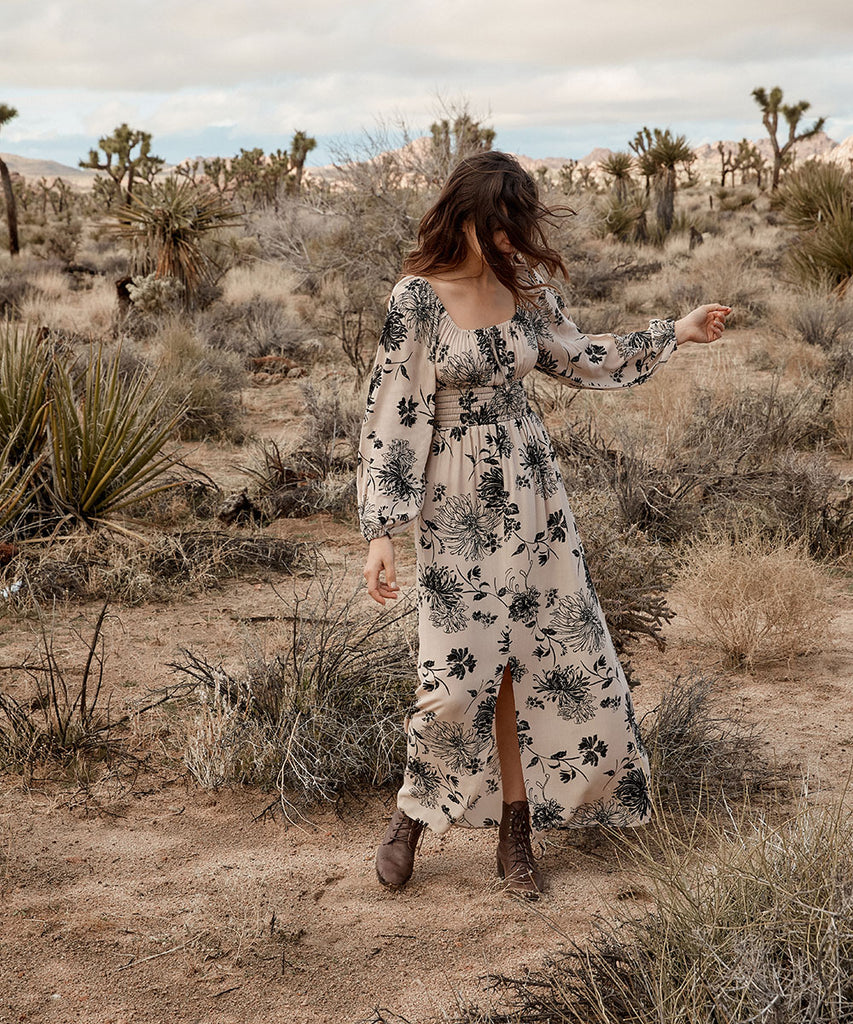 The Savannah Dress | Chrysanthemum