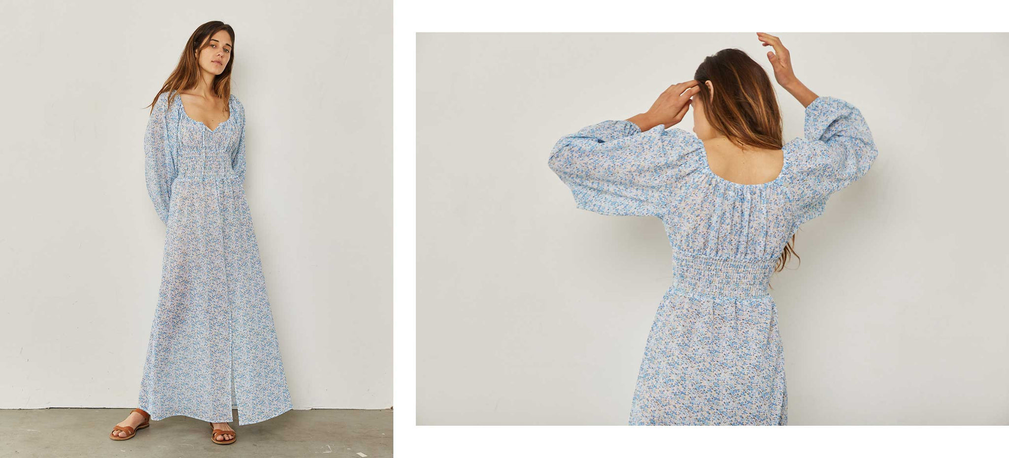 The Savannah Dress | Cotton Floral
