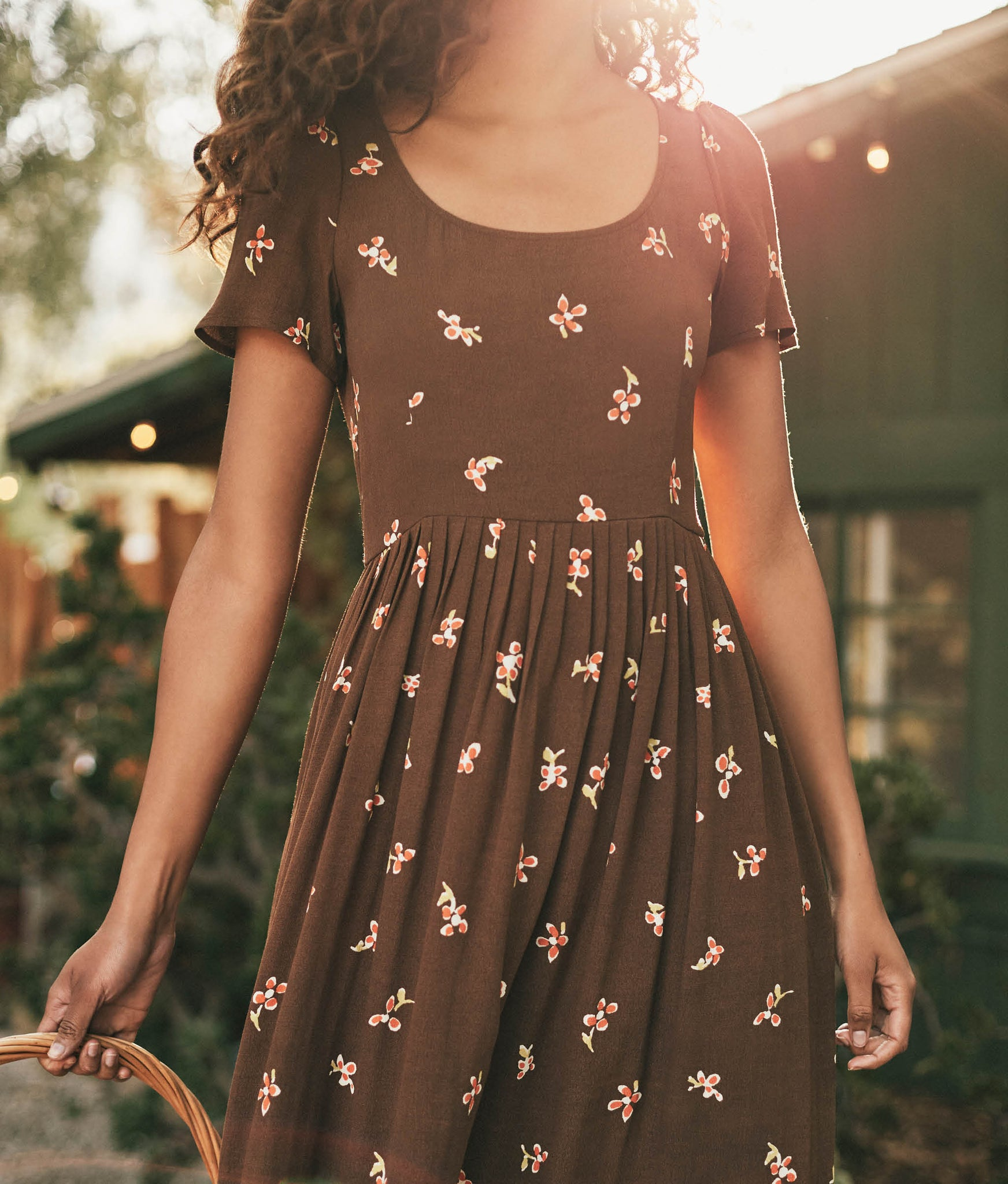 The Scarlet Dress | Carob Bloom