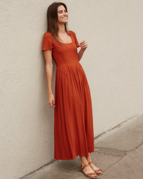 The Scarlet Dress | Rust