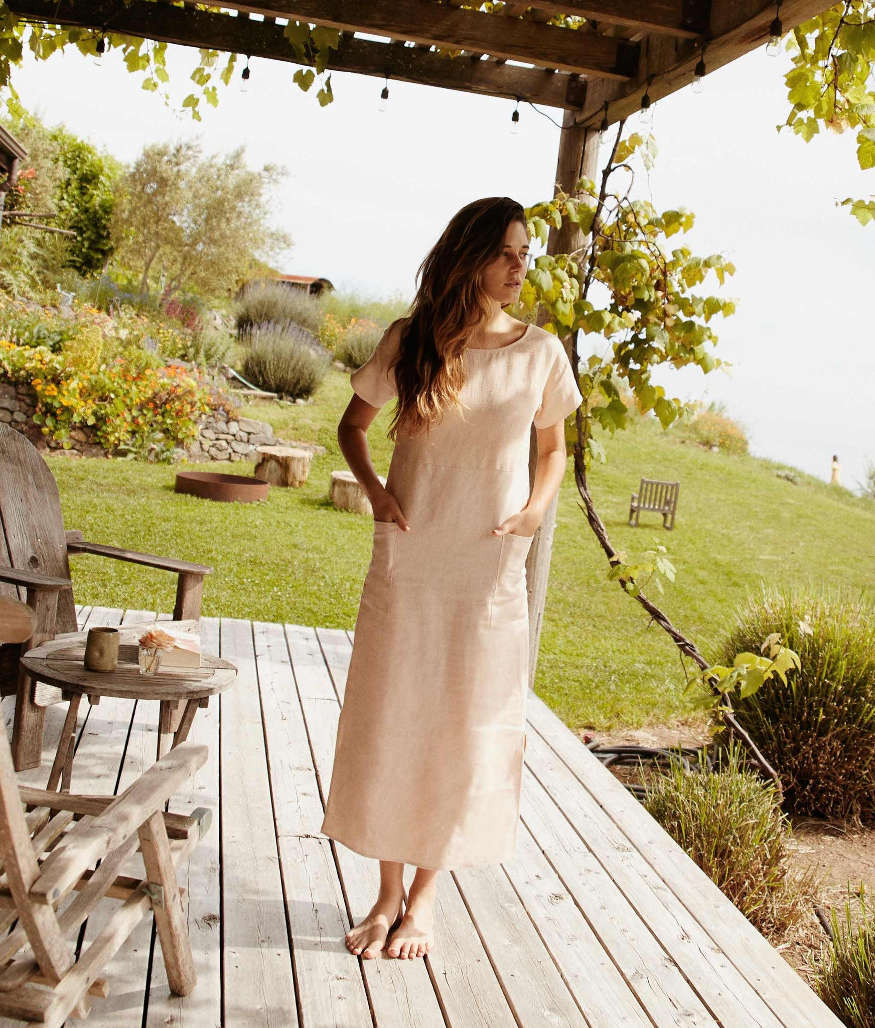 The Seaton Dress | Butterscotch Linen