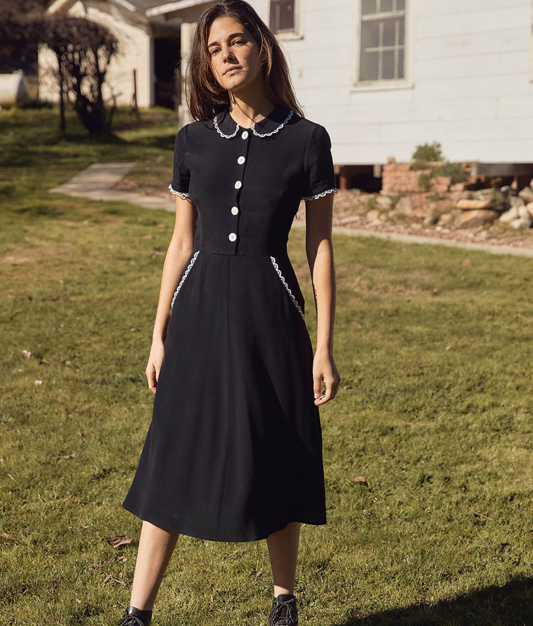 The Sebastian Dress | Noir