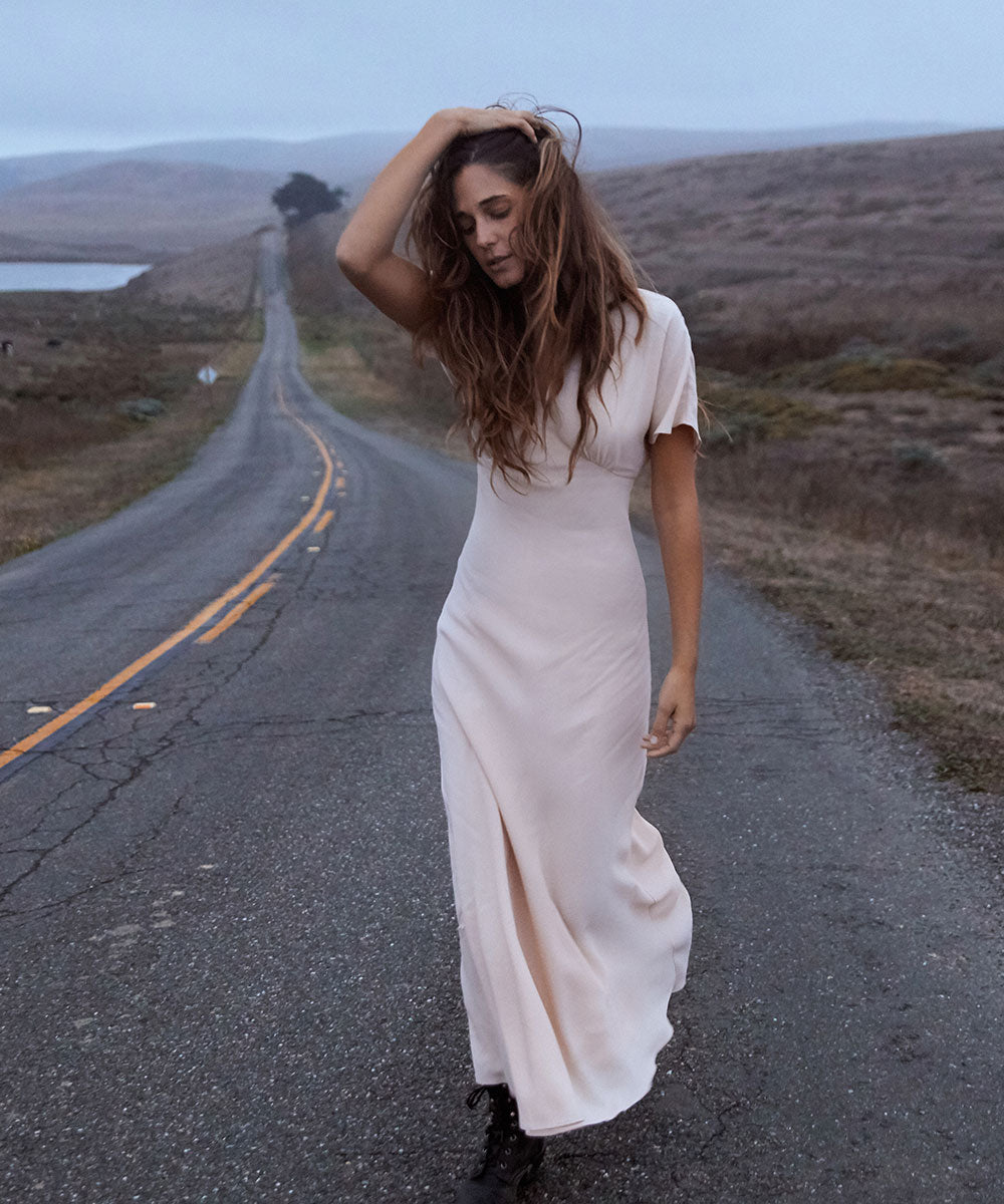 The Sequoia Dress | Butterscotch