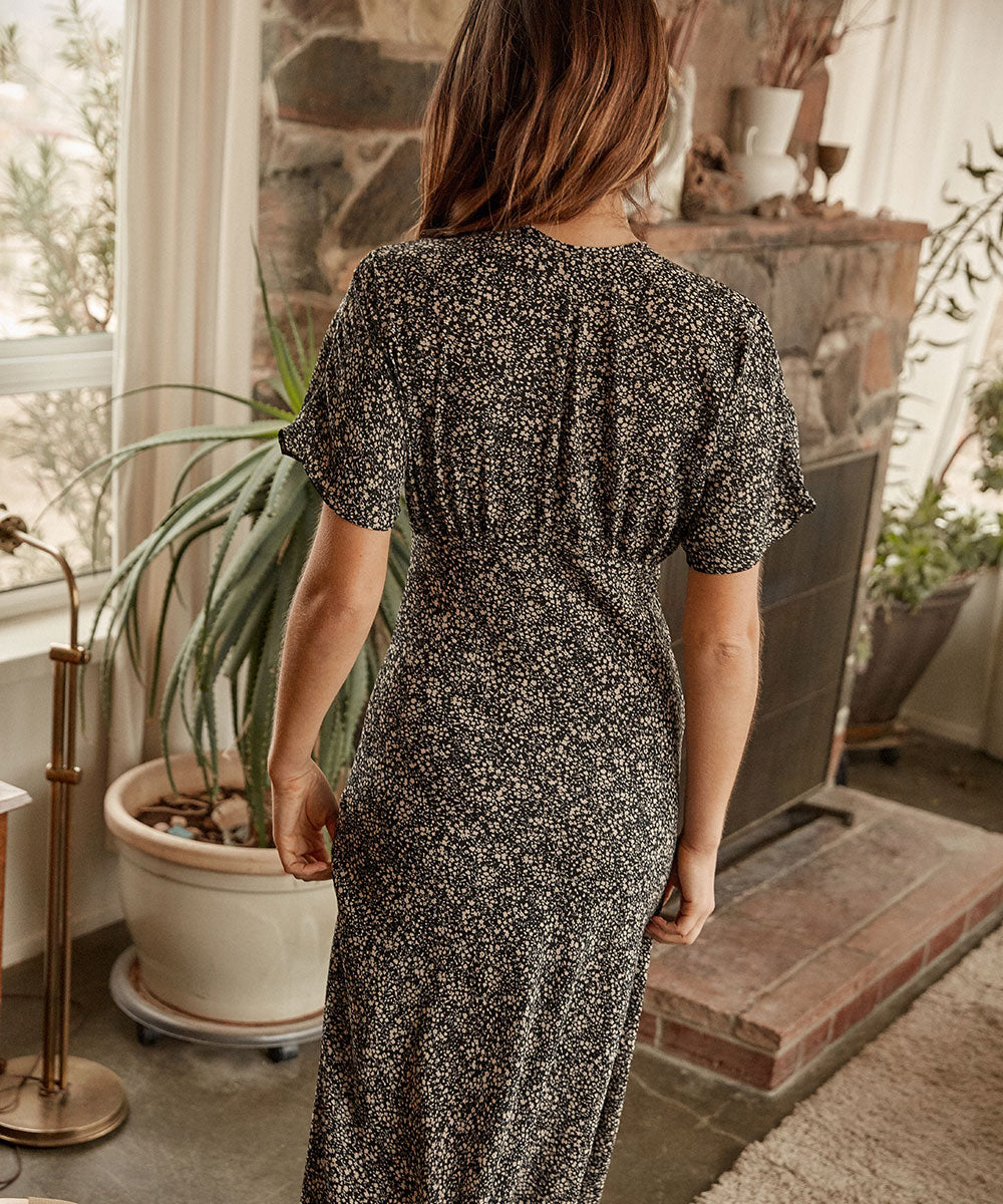 The Sequoia Dress | Night Ditsy