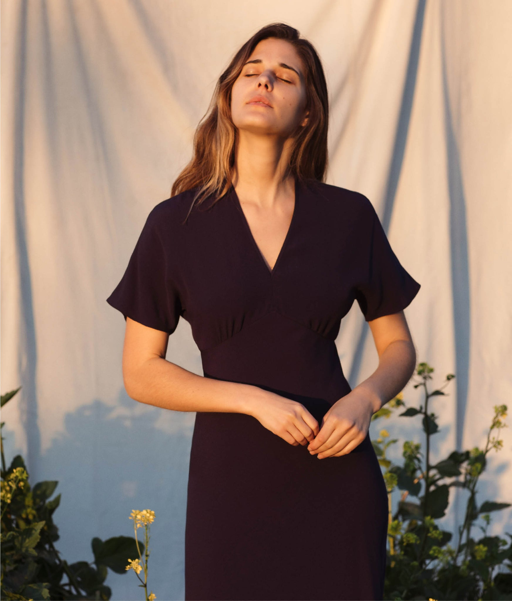 The Sequoia Dress | Midnight