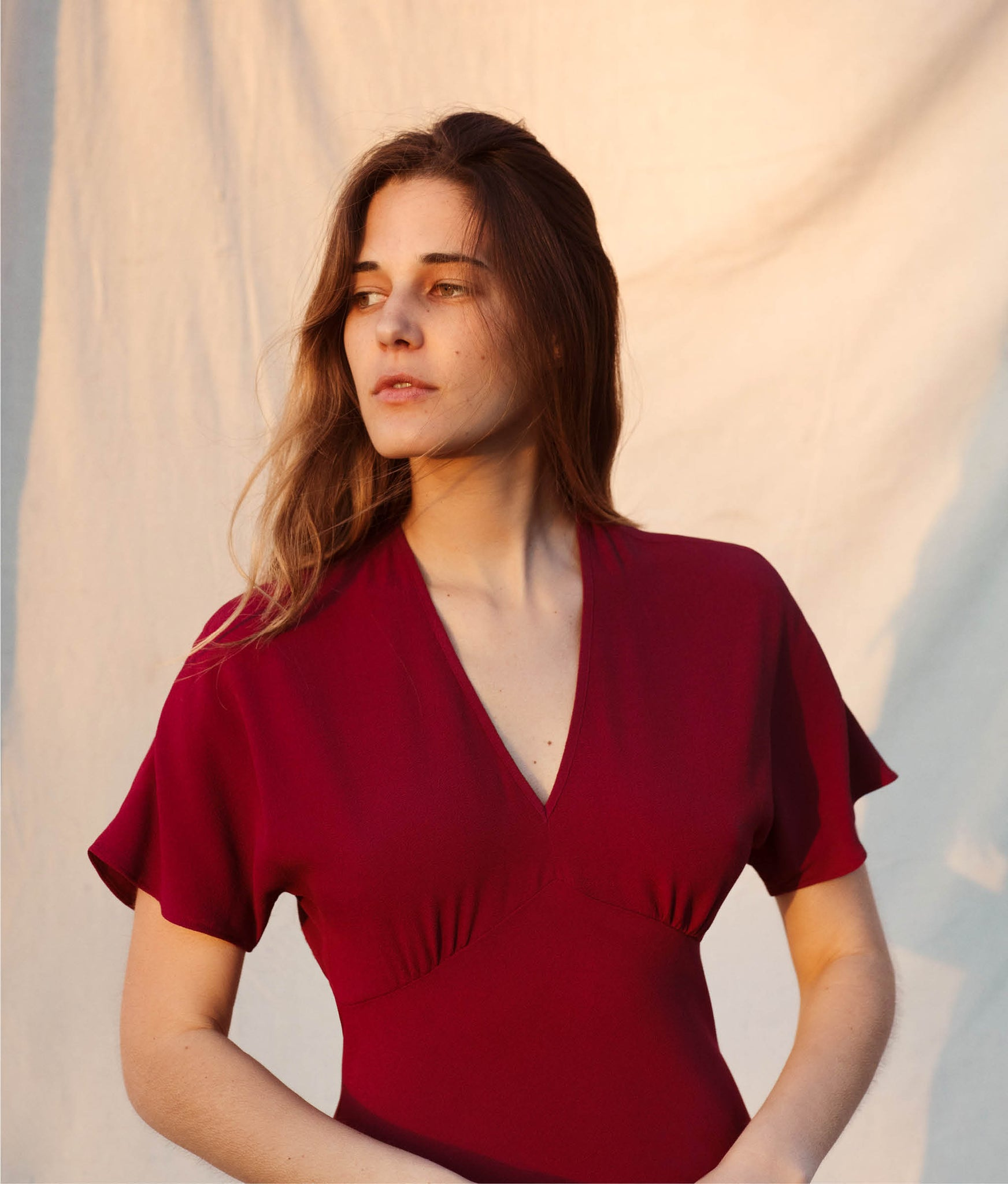 The Sequoia Dress | Boysenberry