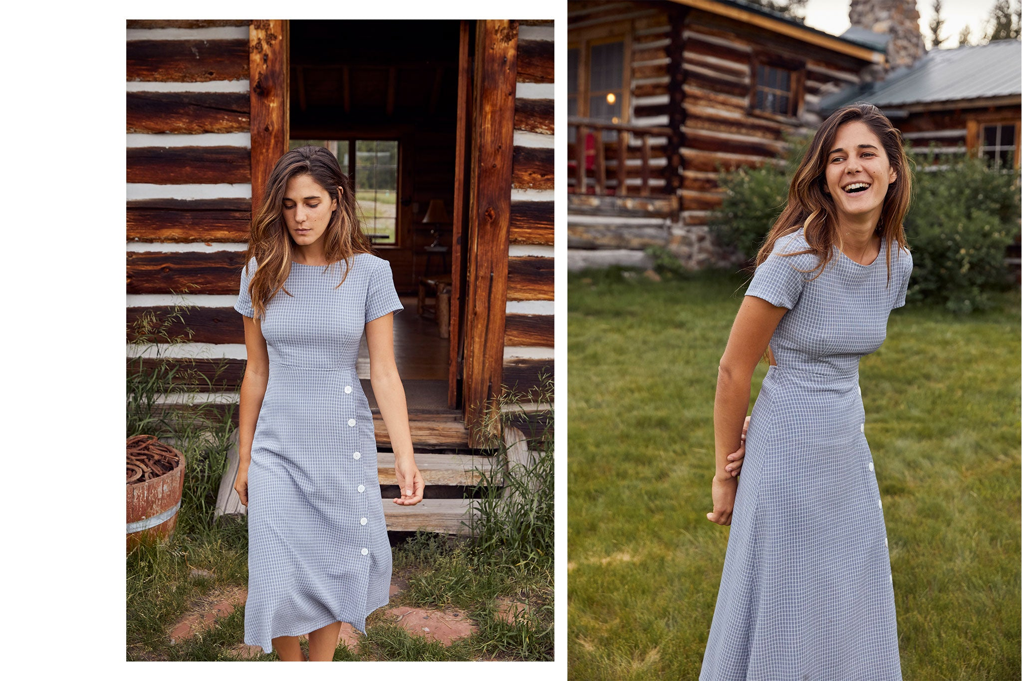 The Sienna Dress | Mist Checker