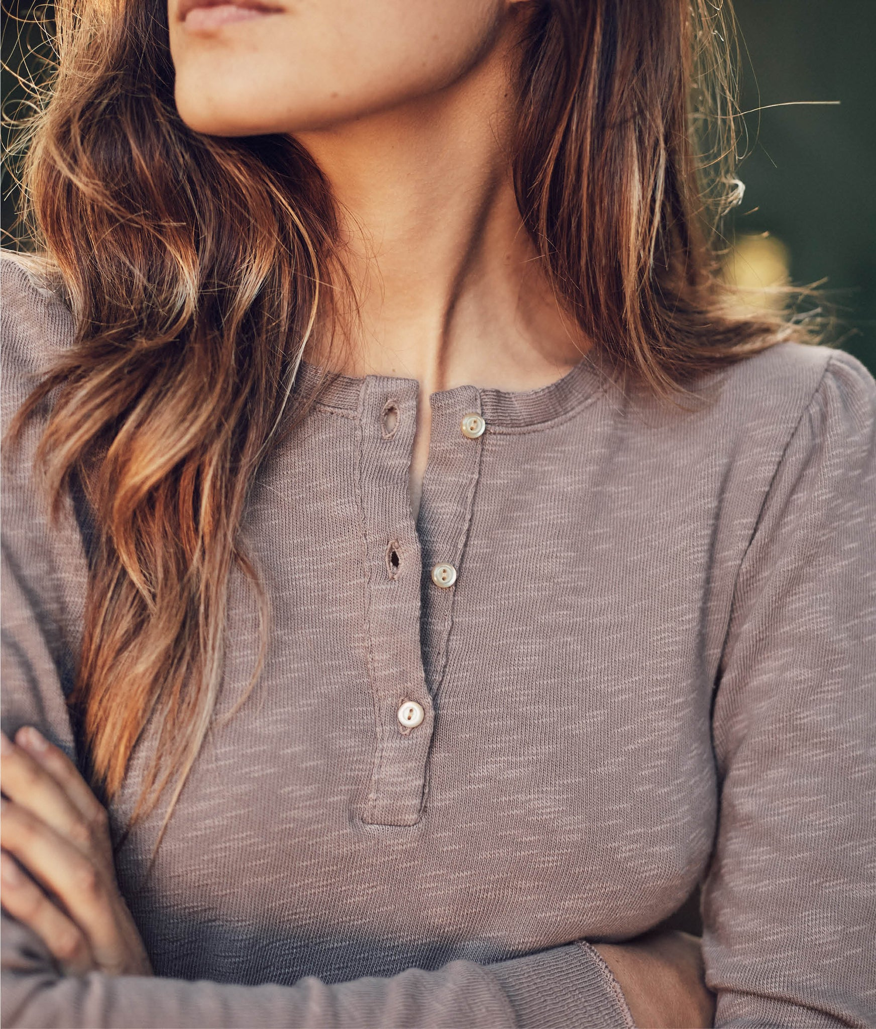 The Skye Henley | Taupe