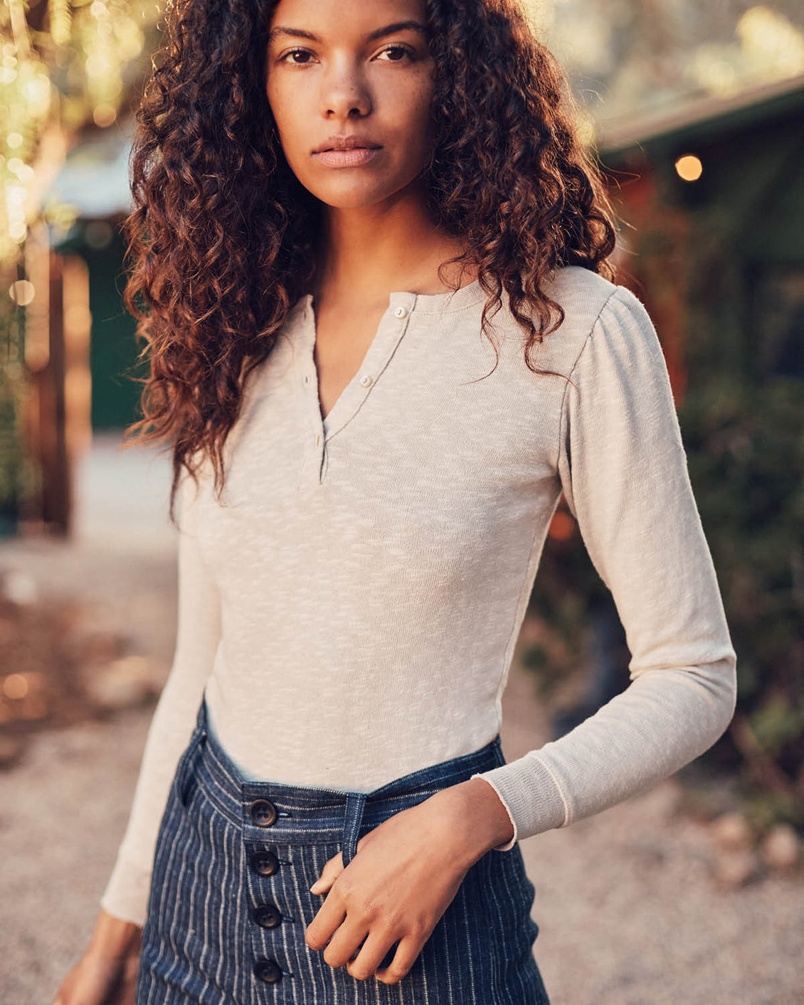 The Skye Henley | Oat (Imperfect)