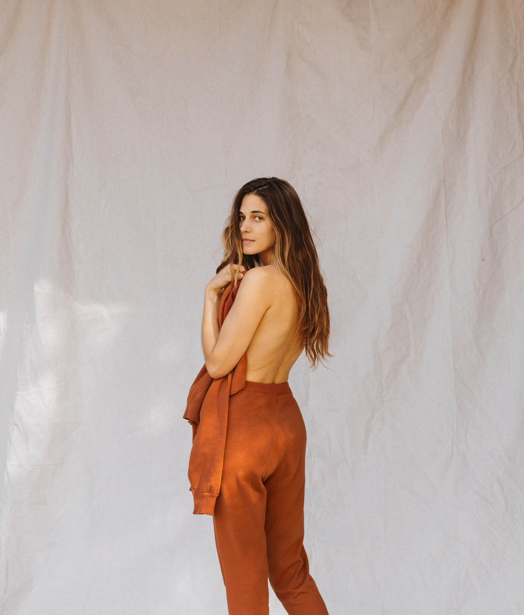 The Sonny Sweater | Rust