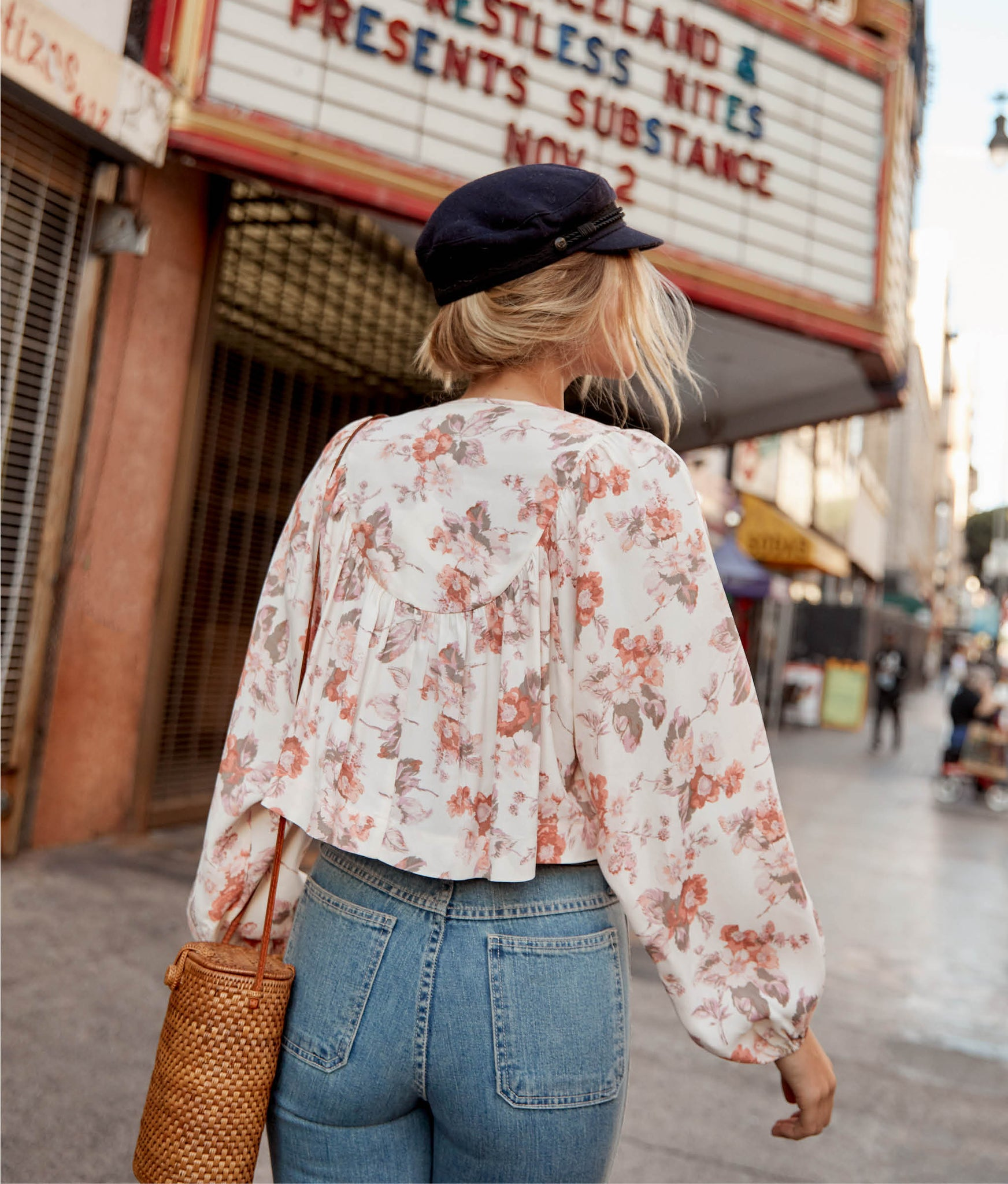 The Sophie Top | Victorian Bloom