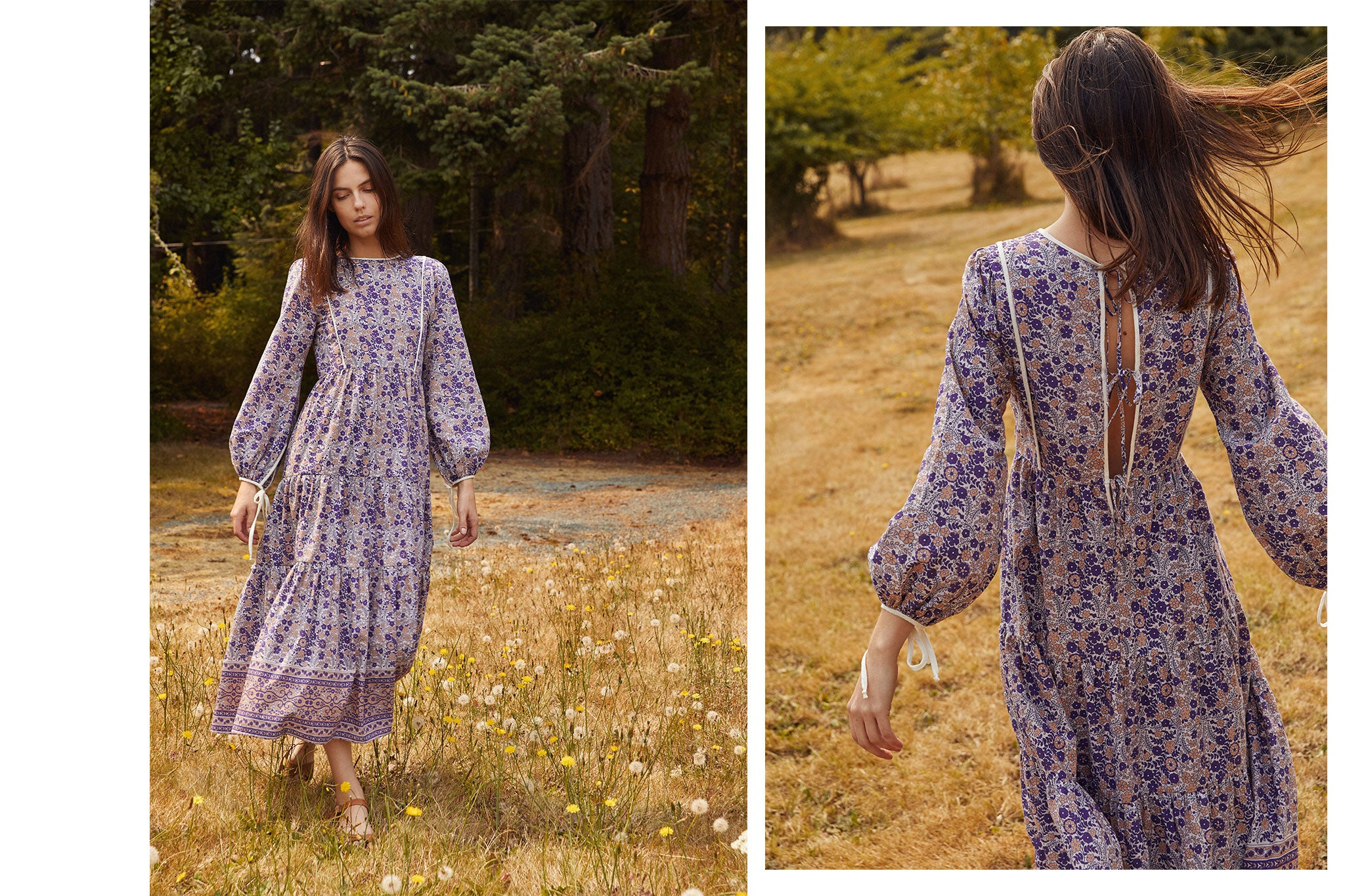The Tallulah Dress | Indian Floral Cotton
