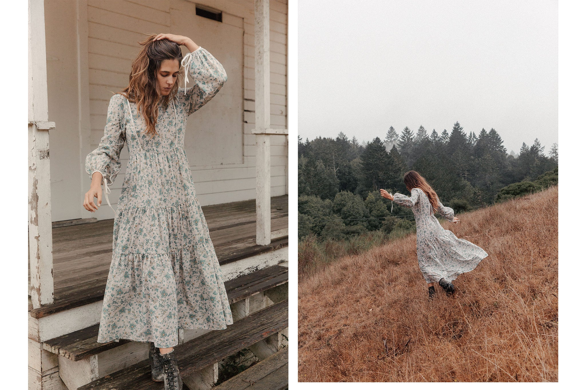 The Tallulah Dress | Aloe Spray