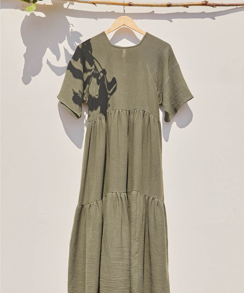 The Theo Dress | Forest Green