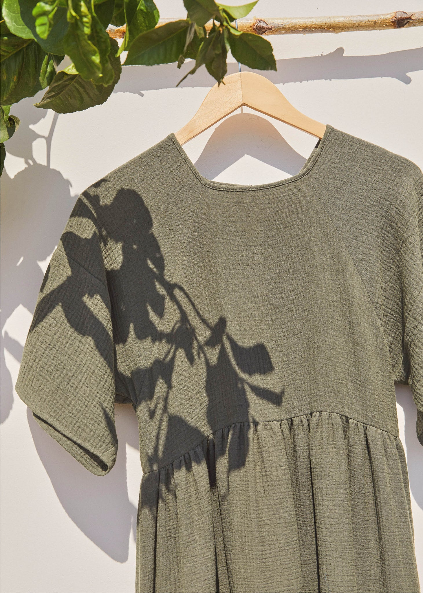 The Theo Dress | Forest Green (3-of-a-Kind)