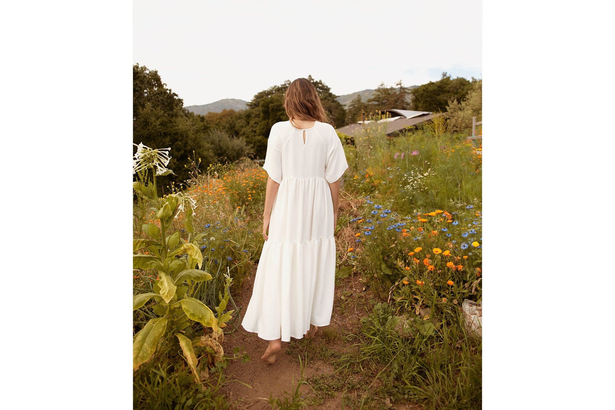 The Theo Dress | Alabaster Checker