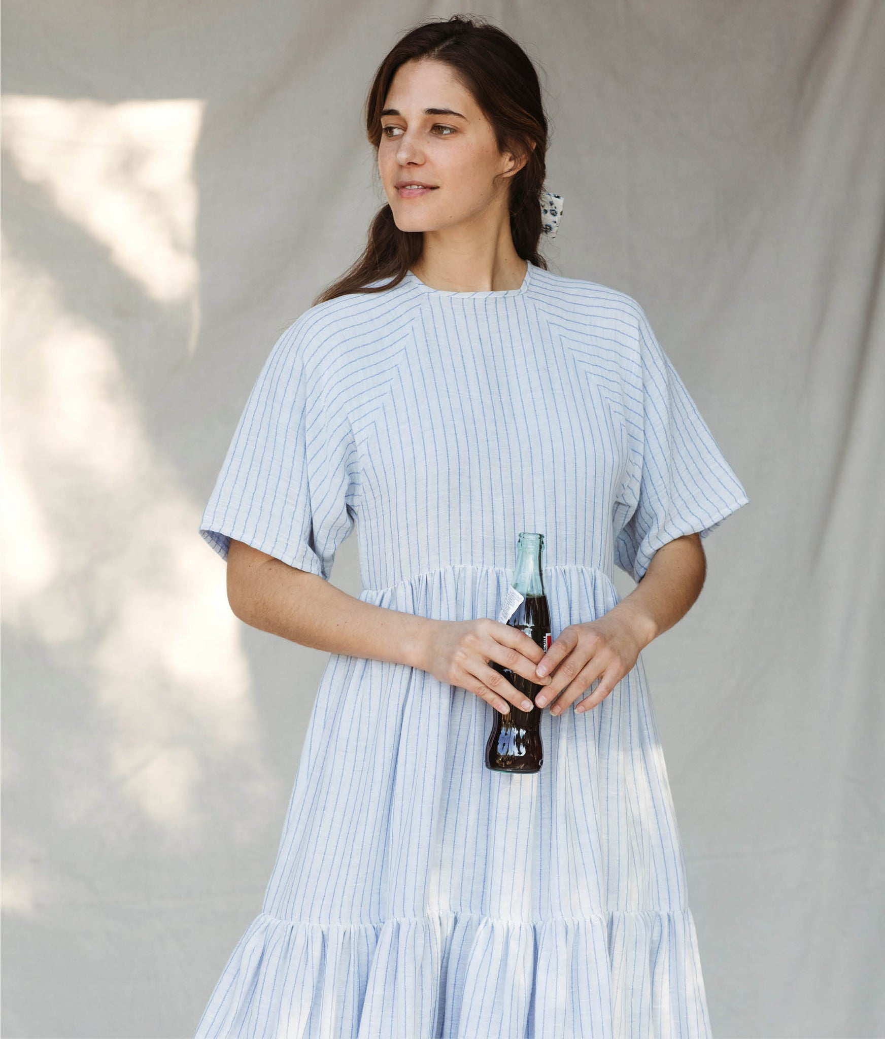 The Theo Dress |  Lazuli Stripe