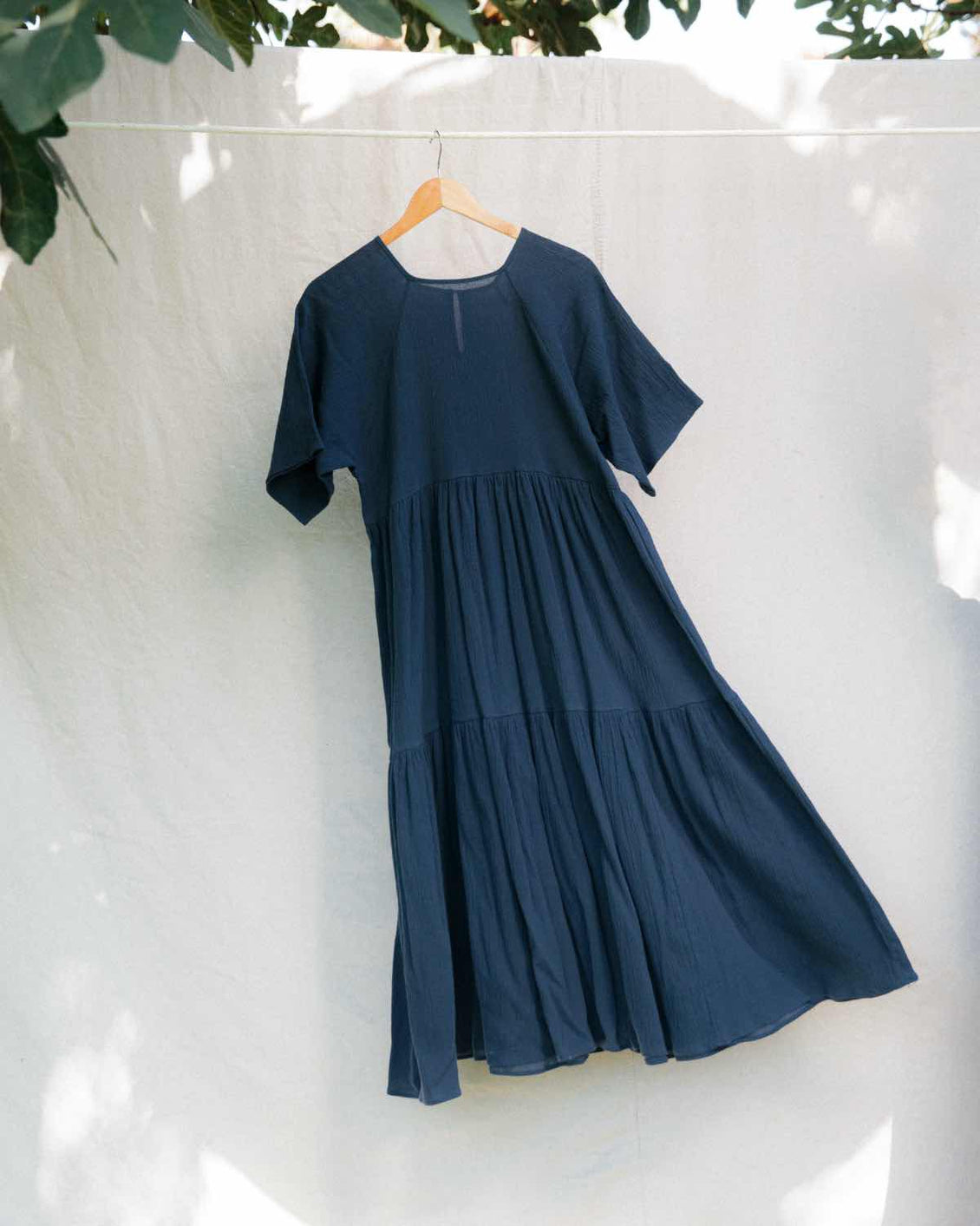 The Theo Dress | Washed Midnight