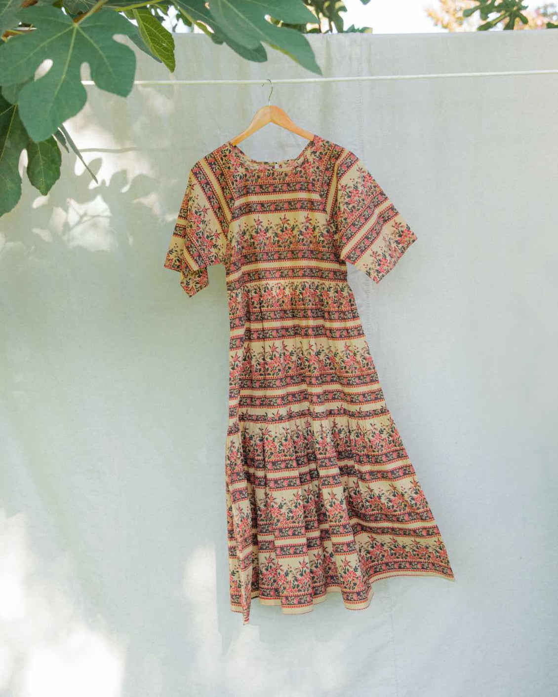 The Theo Dress | Blooming Garden (1-of-a-Kind)