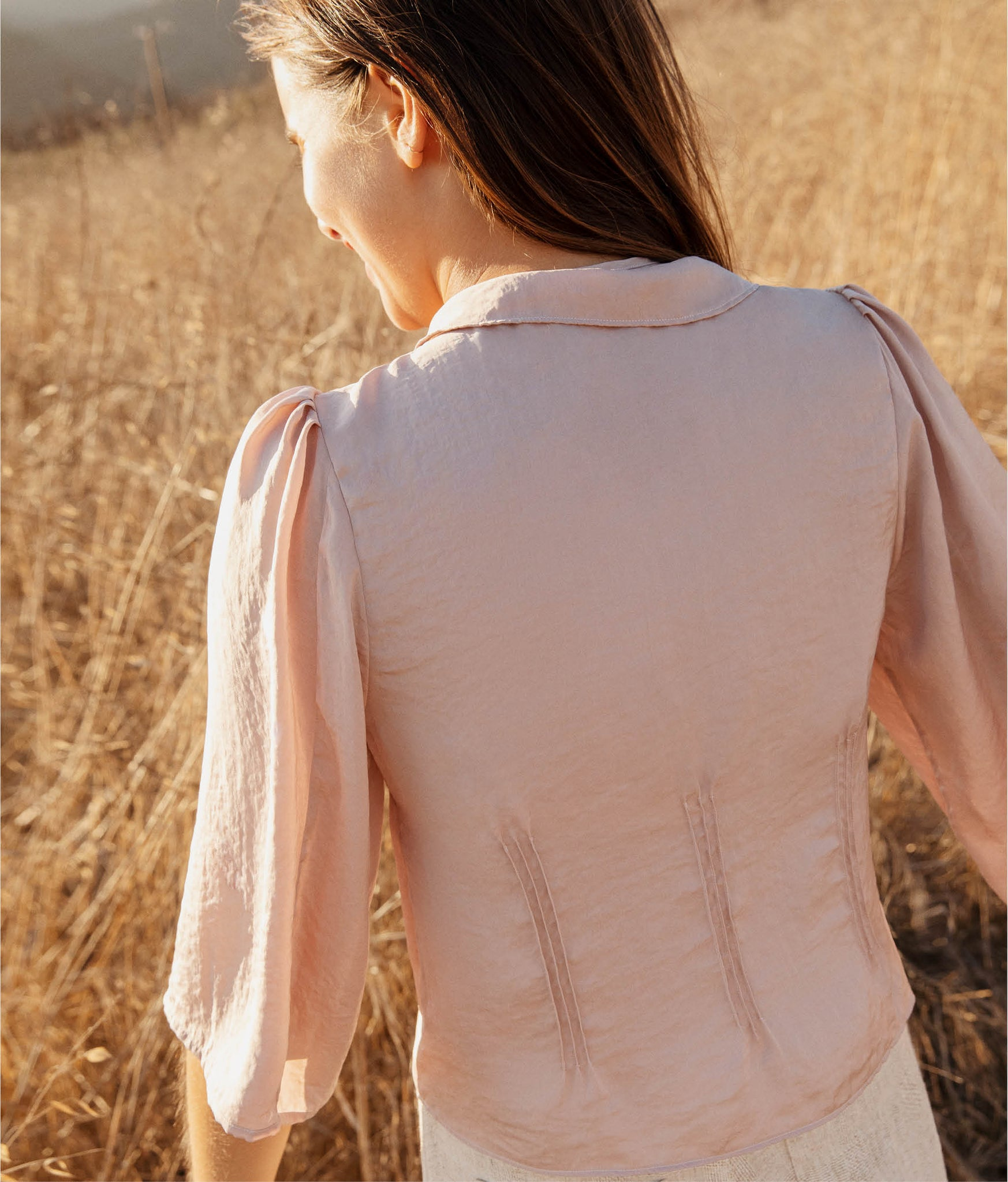 The Uma Top | Rose Quartz