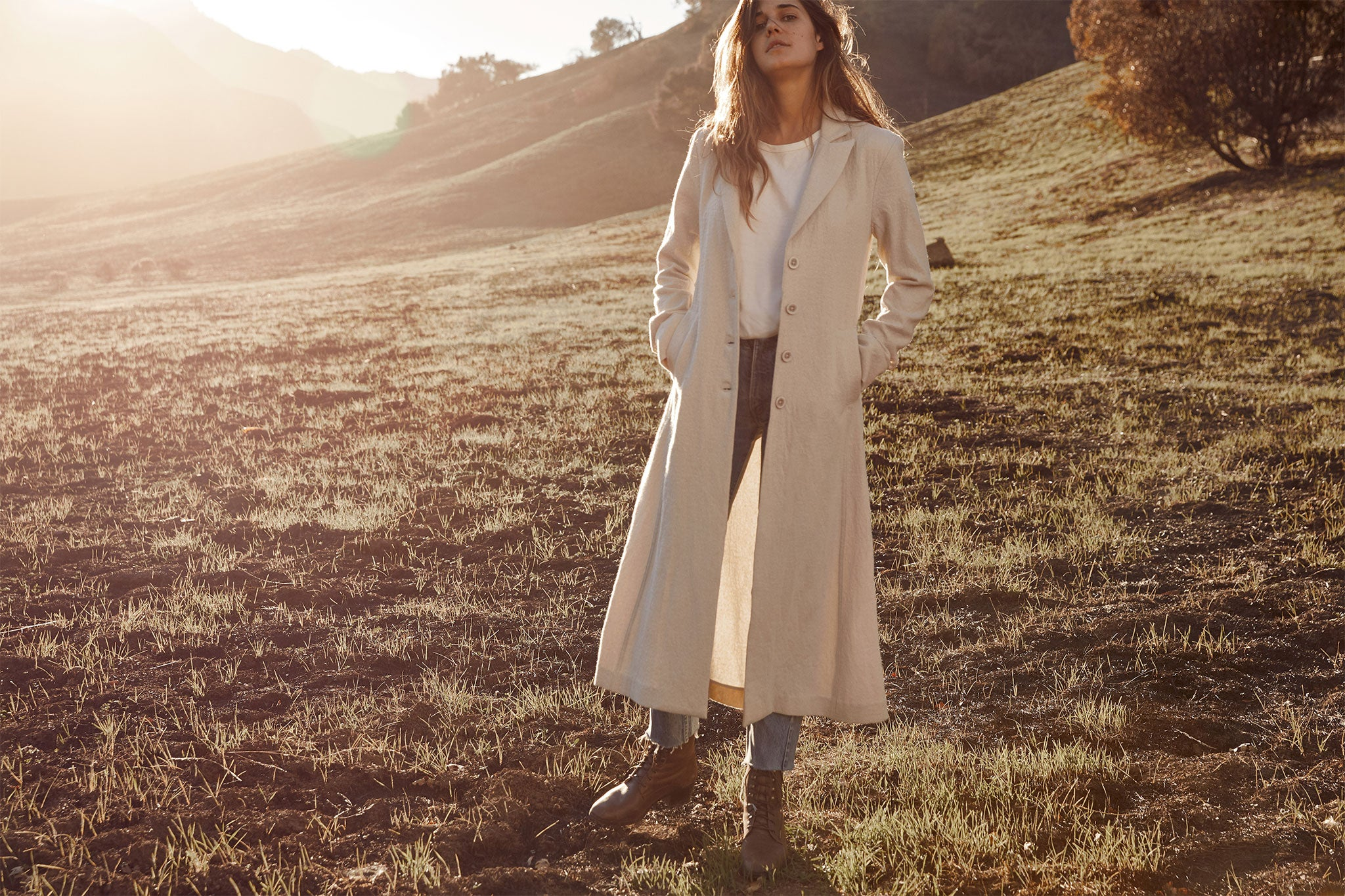 The Vera Coat | Moon Wool