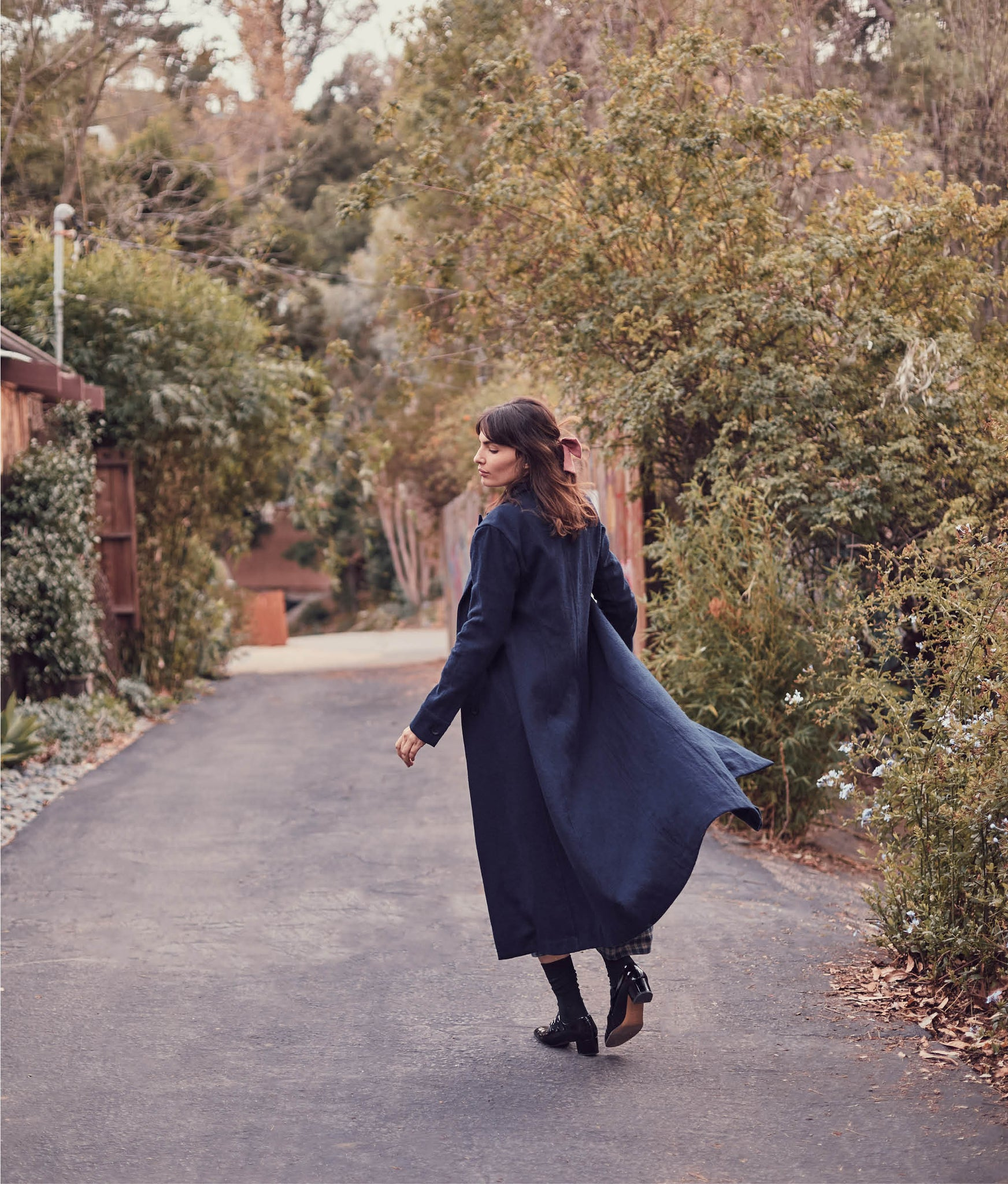 The Vera Coat | Midnight Wool