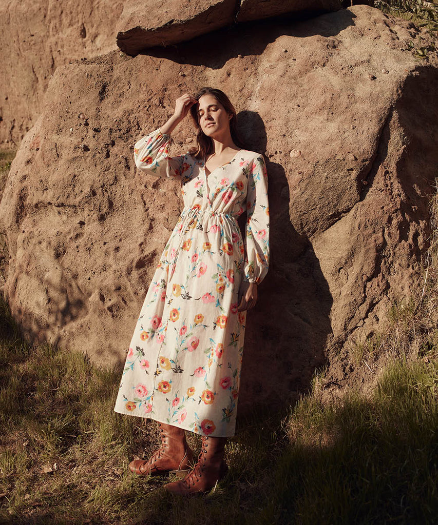 The Willa Dress | Desert Floral image 2