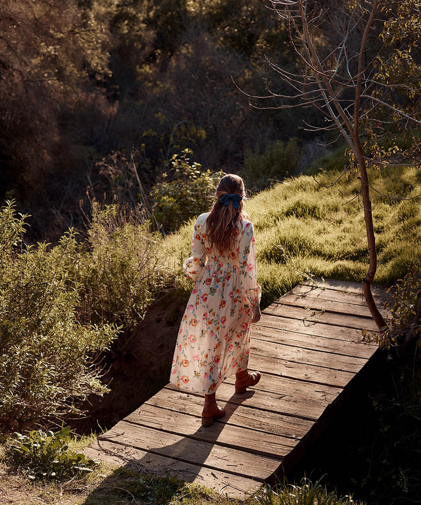The Willa Dress | Desert Floral