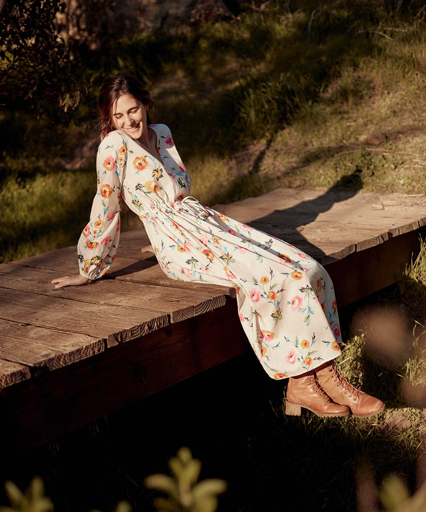 The Willa Dress | Desert Floral image 8