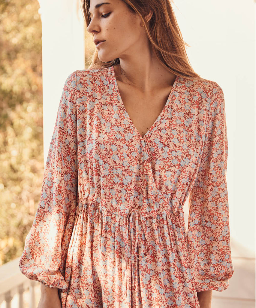 The Willa Dress | Coral Blossoms image 14