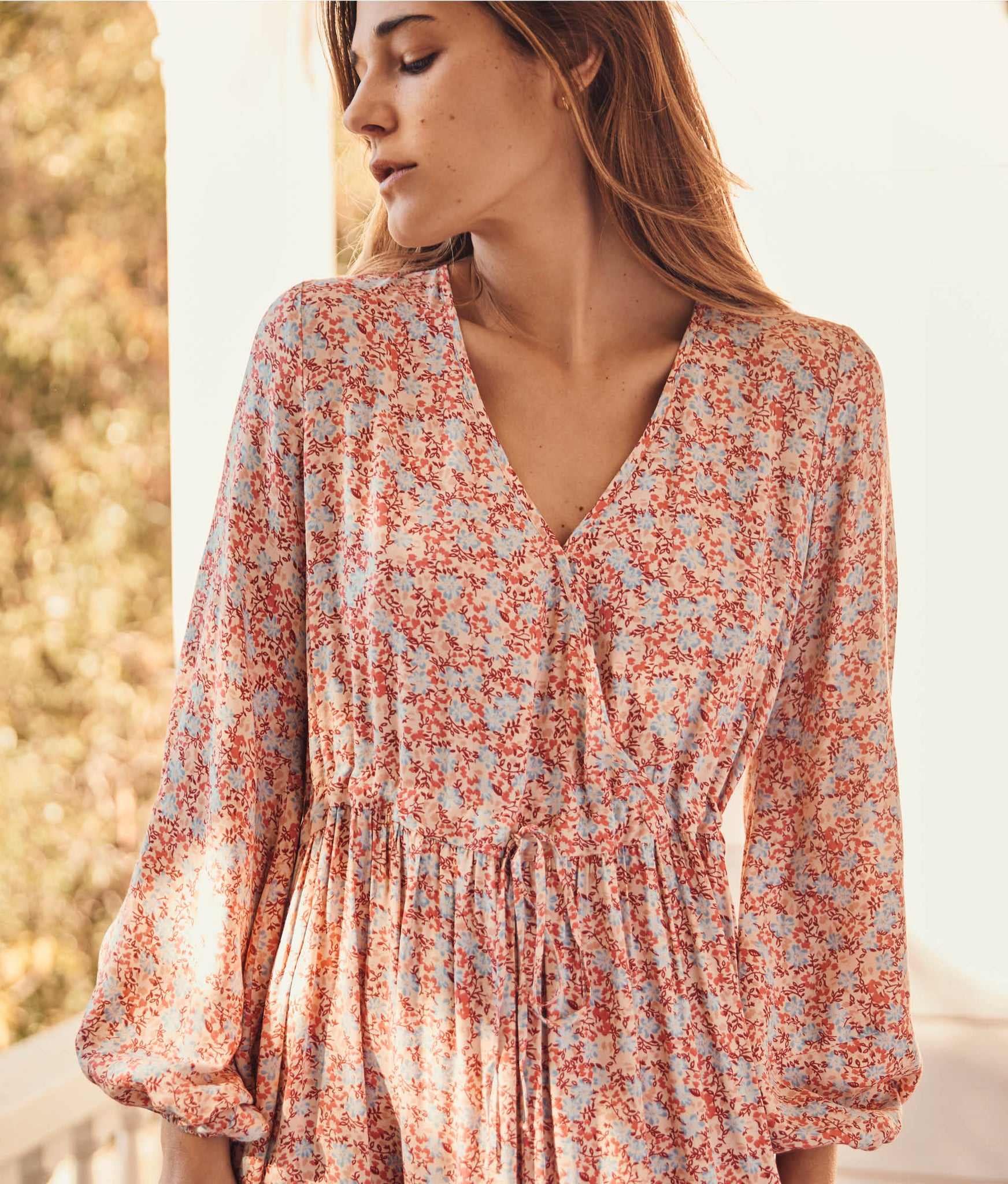 The Willa Dress | Coral Blossoms