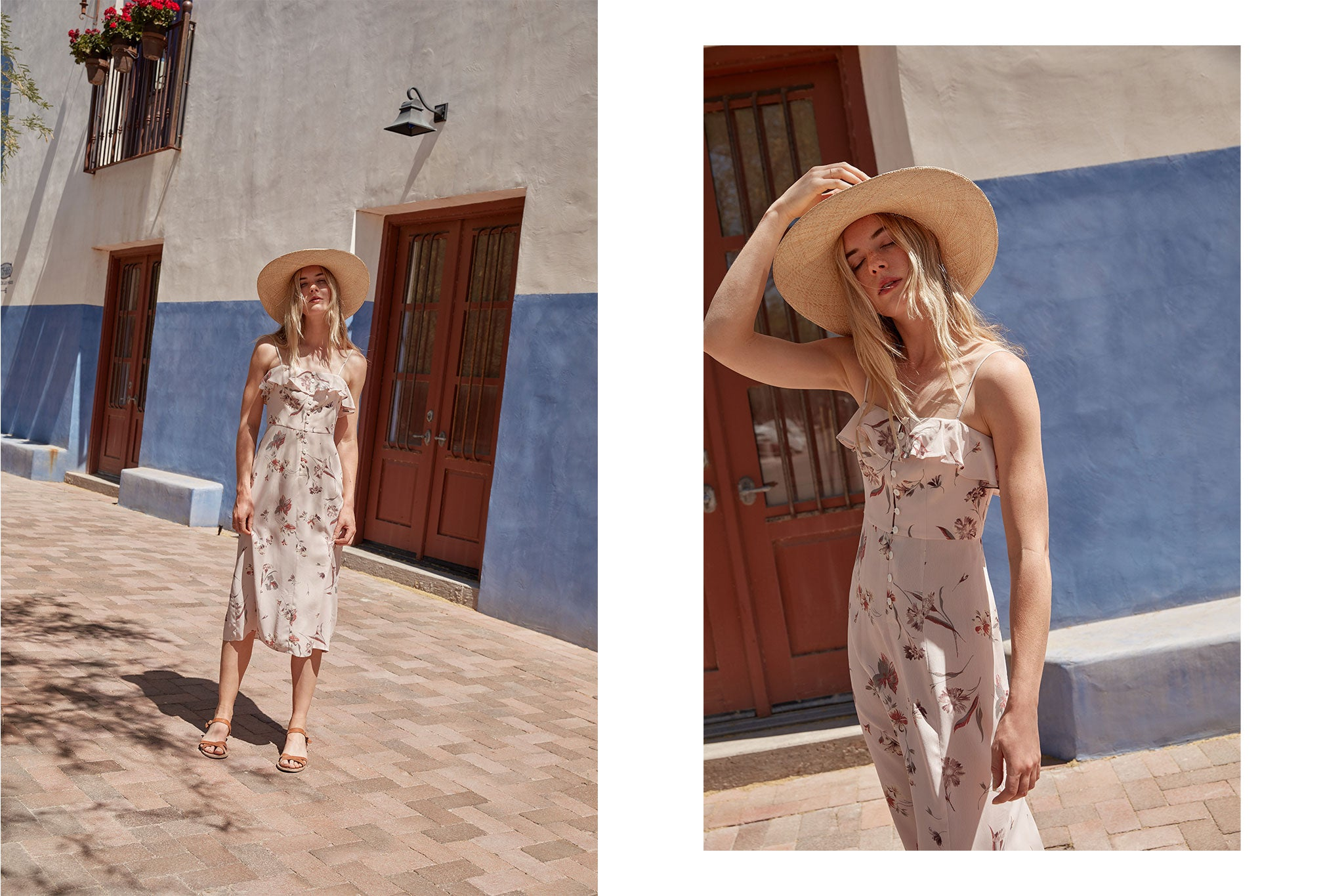 The Winona Dress | Quartz Floral