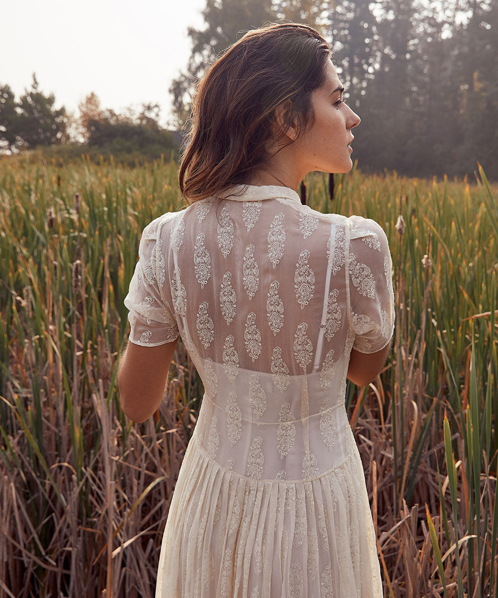The Winslet Dress | Anne's Lace (Silk)