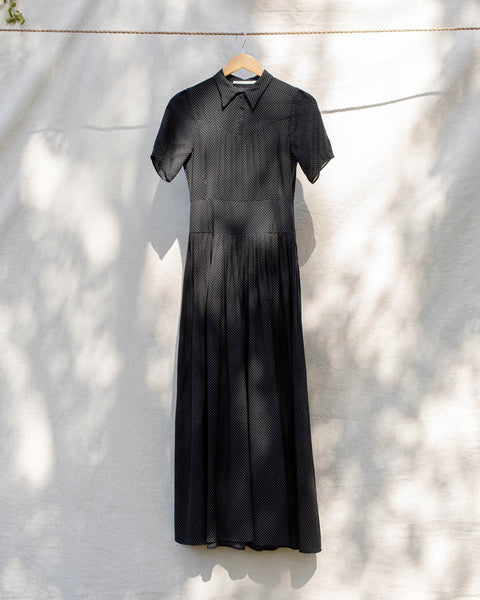 The Winslet Dress | Noir Starlight (4-of-a-Kind)