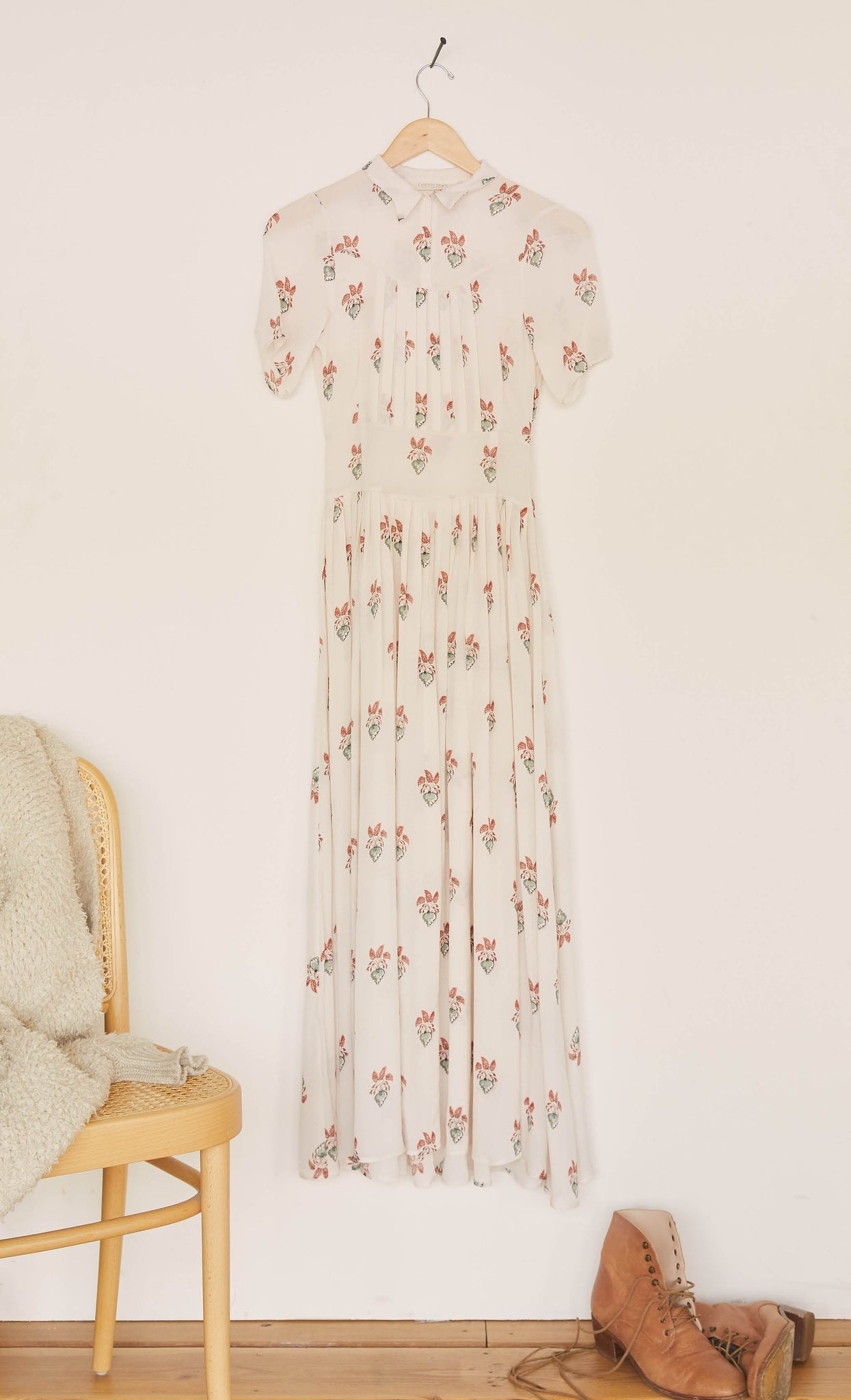 The Winslet Dress | Ginger Paisley (4-of-a Kind)