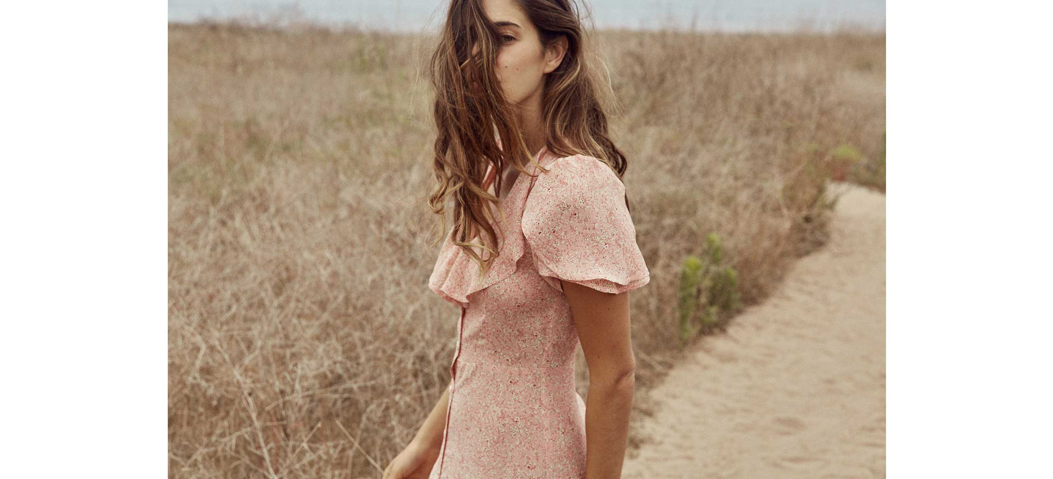 The Daisy Dress | Pink Floral